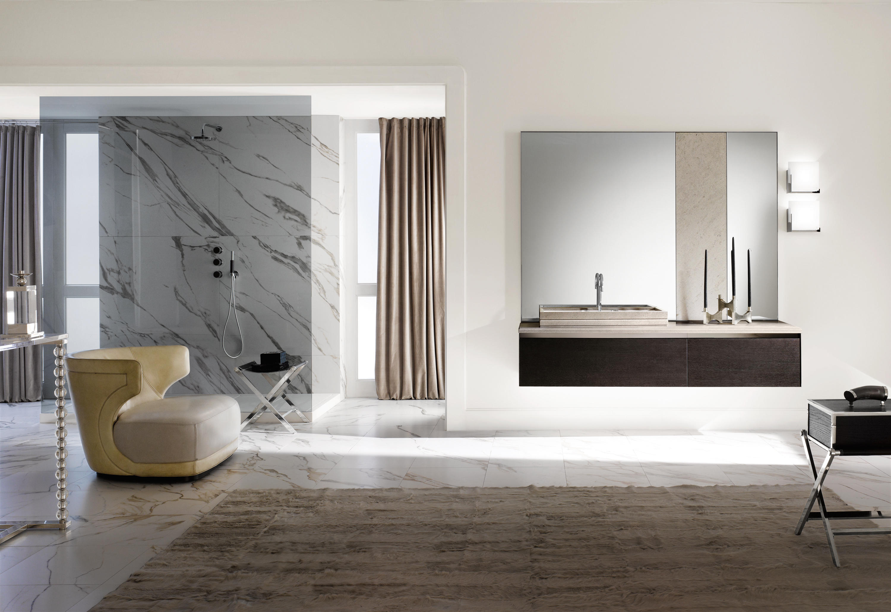FOUR SEASONS 05 Wall mirrors from Milldue Architonic