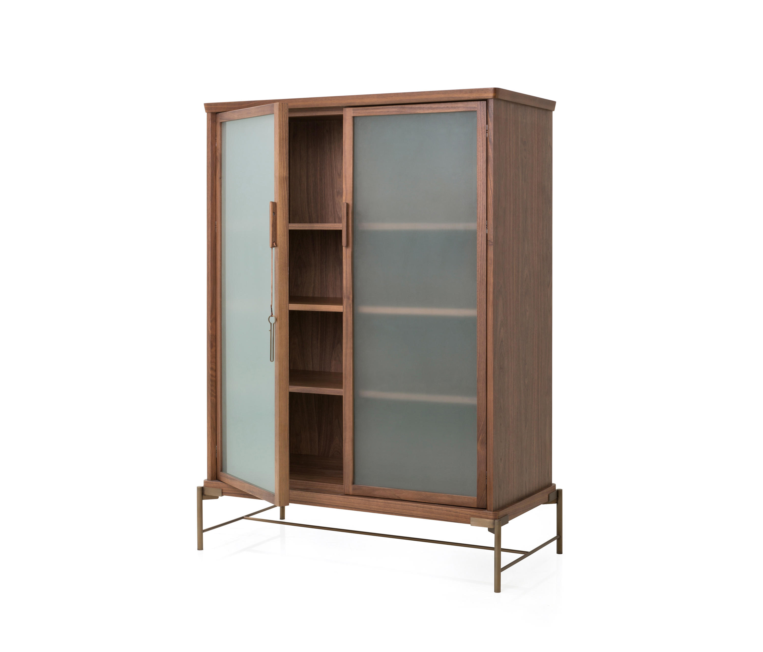 Dowry Cabinet Iii Frosted Glass Display Cabinets From