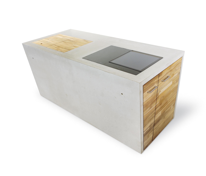THE CONCRETE | OUTDOOR KÜCHE - Modulküchen von Dade Design AG ...