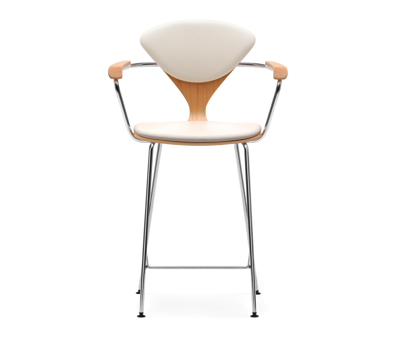 Cherner metal base stool barhocker von cherner architonic for Barhocker usa