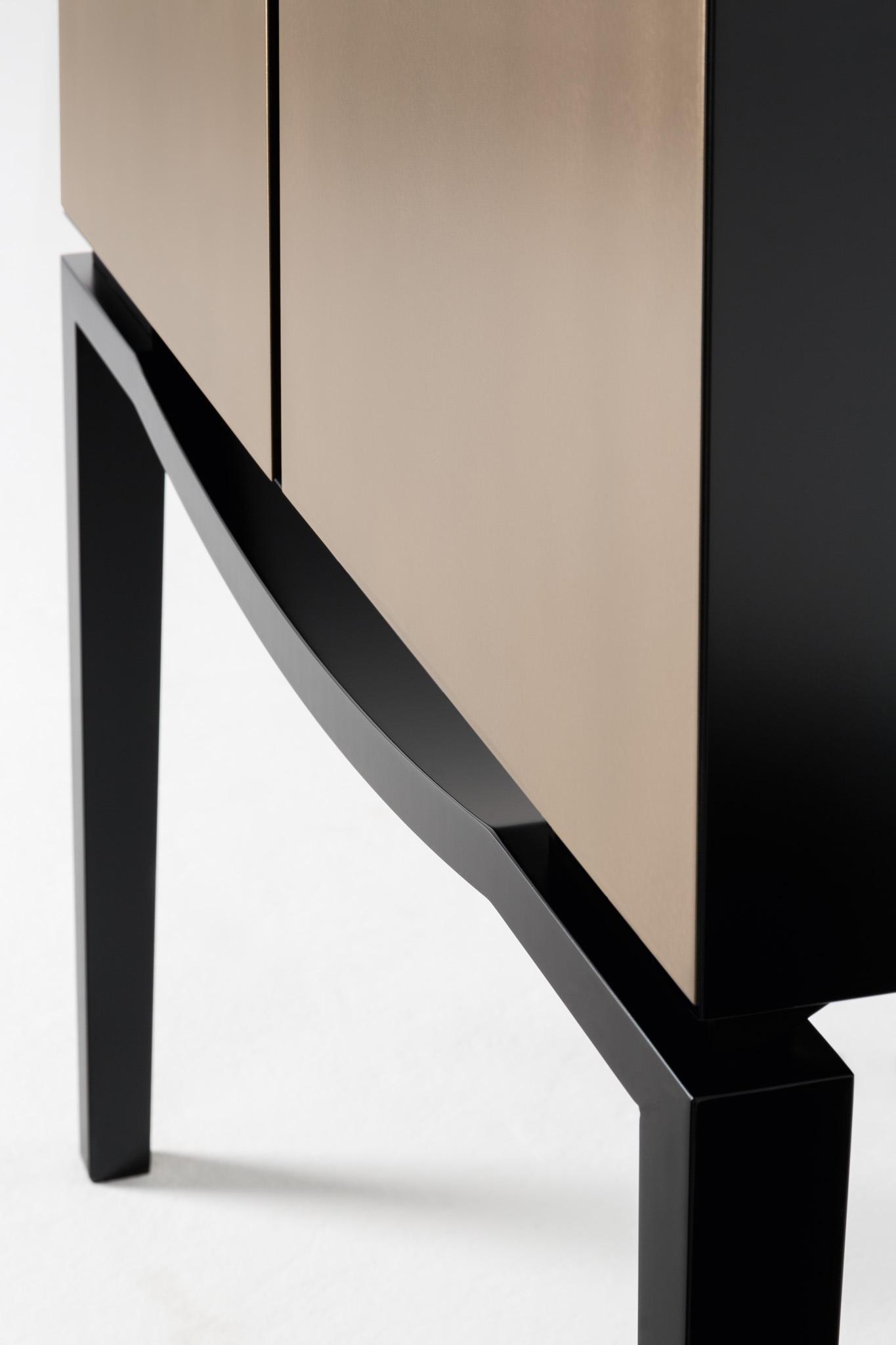 squero bar cabinet barschr nke hausbars von rubelli. Black Bedroom Furniture Sets. Home Design Ideas
