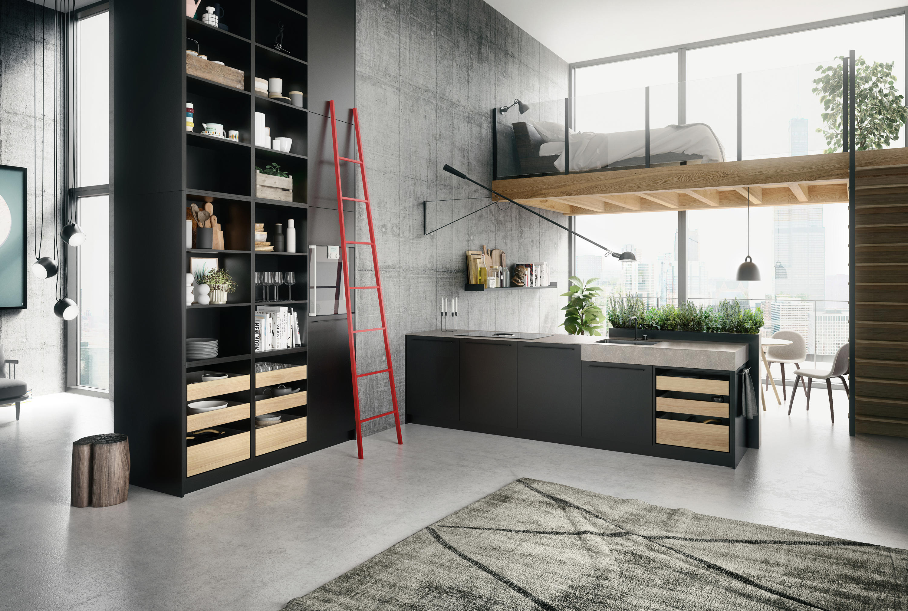 siematic se 8008 lm fitted kitchens from siematic. Black Bedroom Furniture Sets. Home Design Ideas
