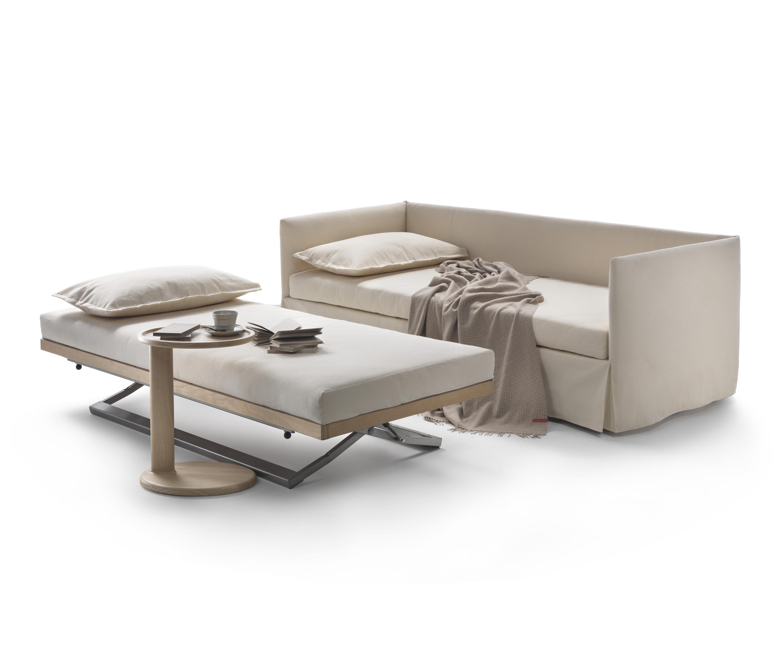 Twins schlafsofas von flexform architonic for Futon cama de dos plazas