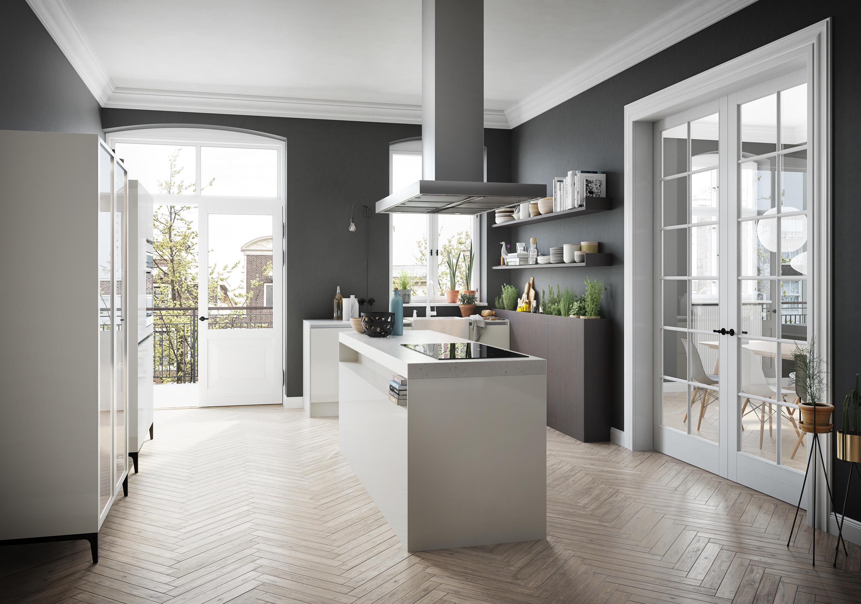Siematic se fitted kitchens from siematic architonic for Cuisine allemande