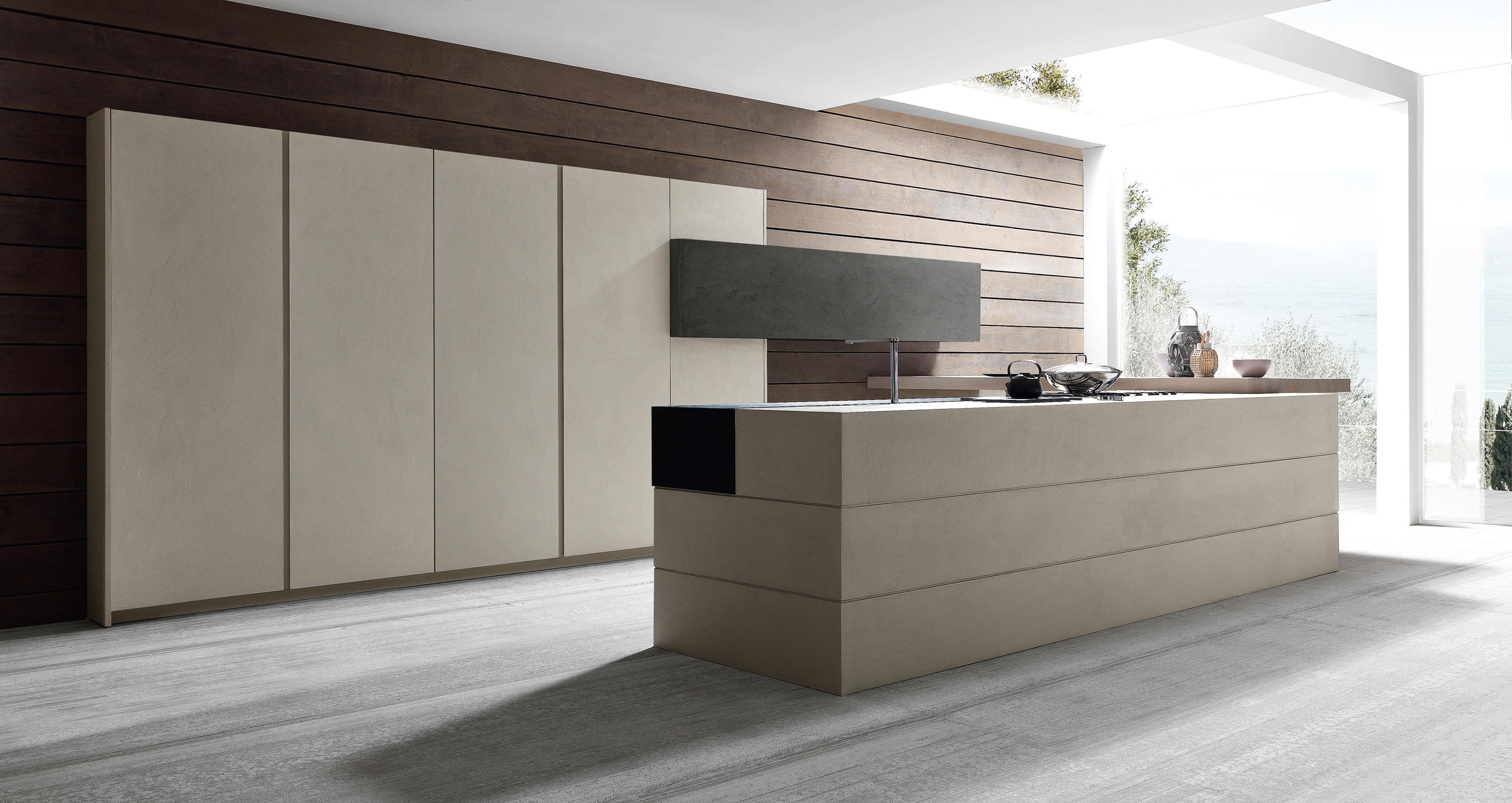 ... Twenty 1 resin island by Modulnova | Fitted kitchens ...