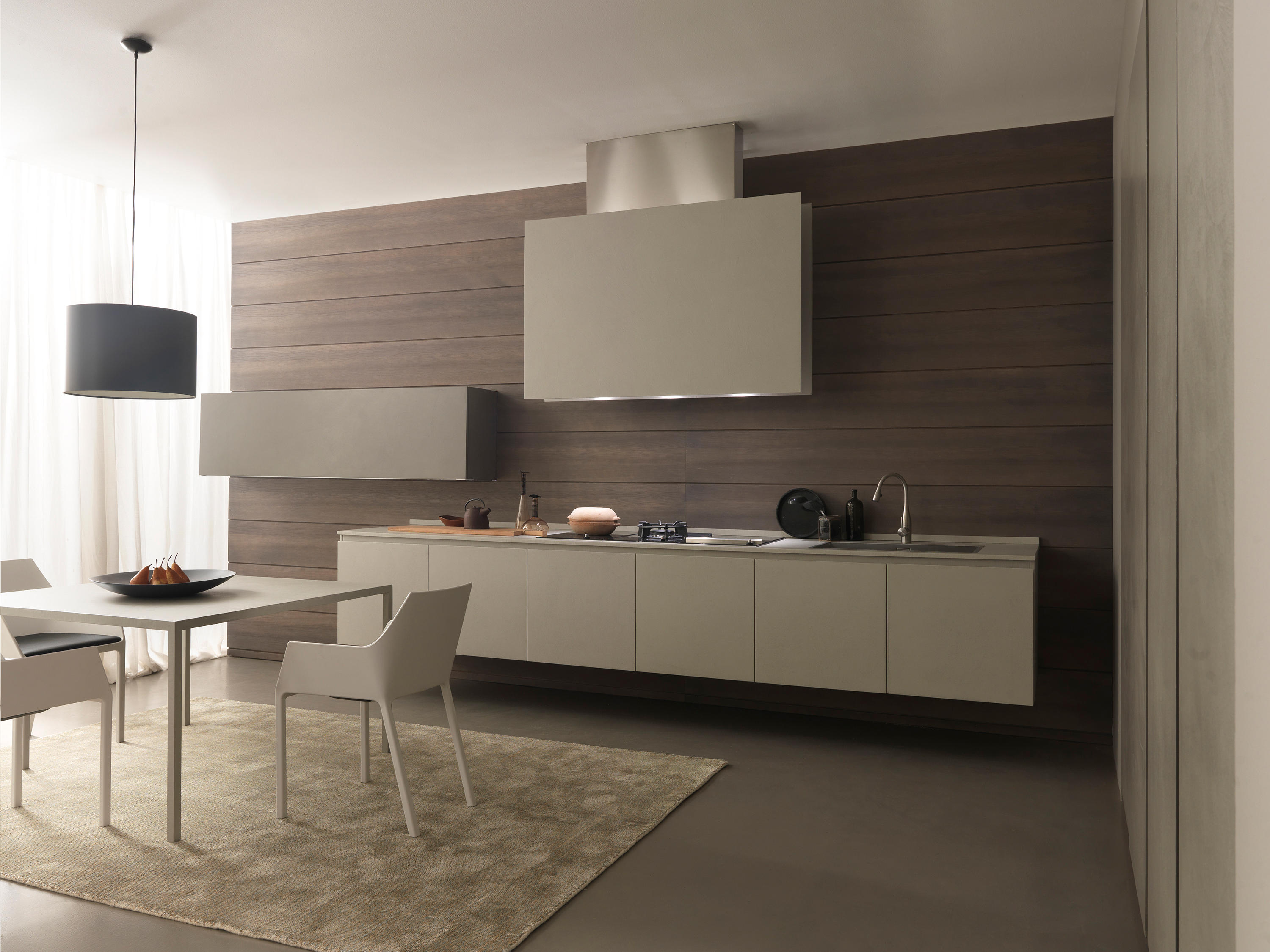 Twenty 2 Linear Kitchen In Resin Fitted Kitchens From