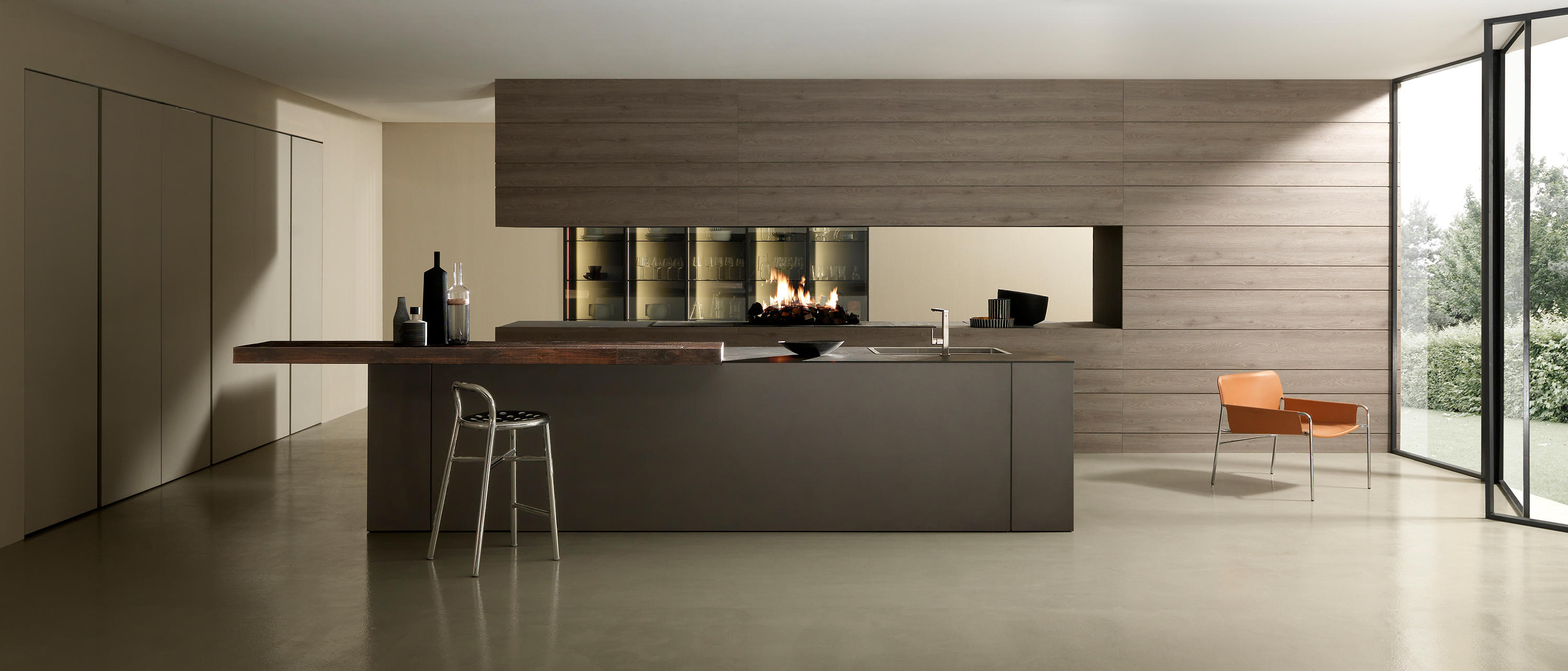 ... Mh6 2 Lava melamine island by Modulnova | Fitted kitchens