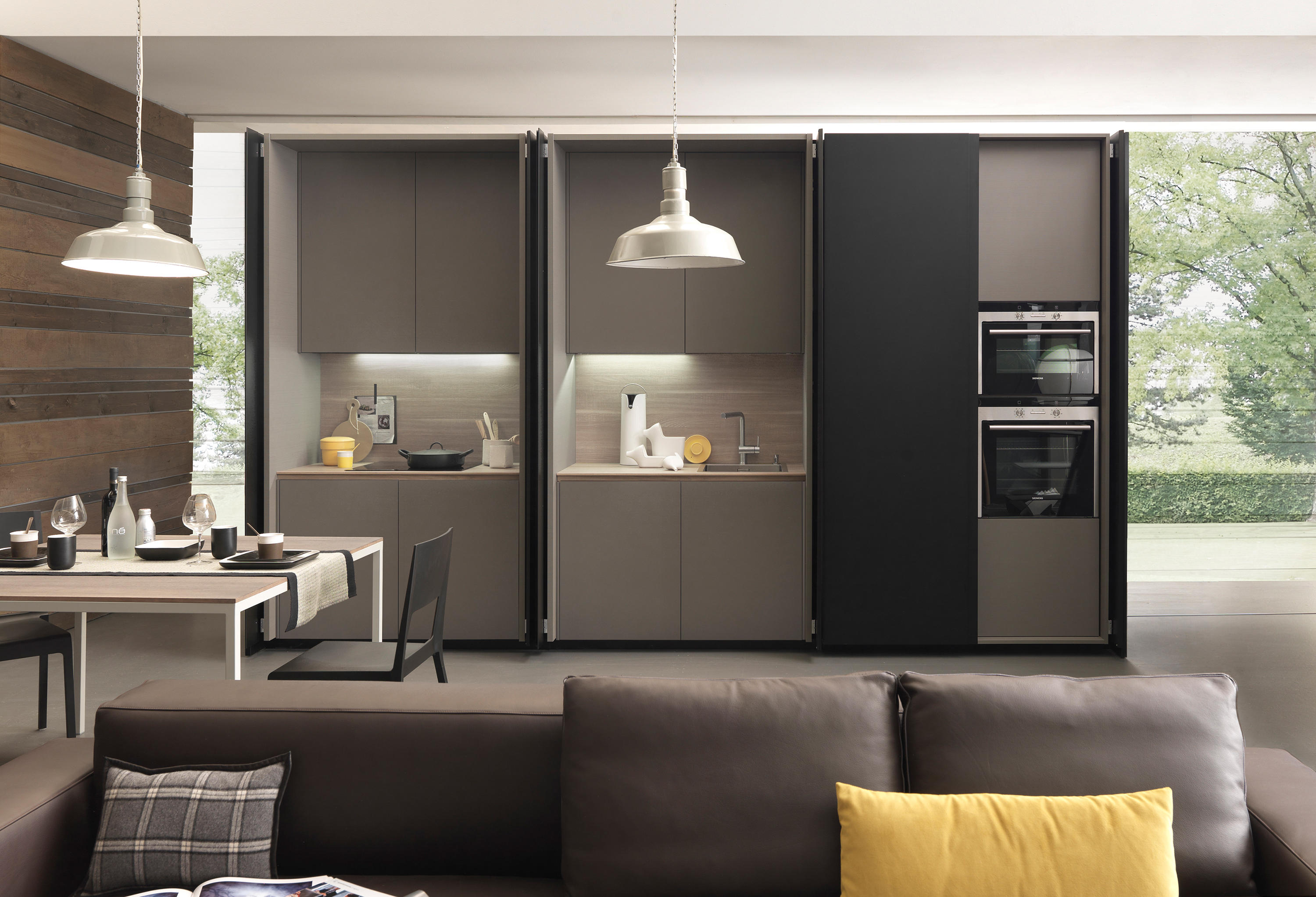 Kitchen closet 2 twenty architonic for Cucina in armadio