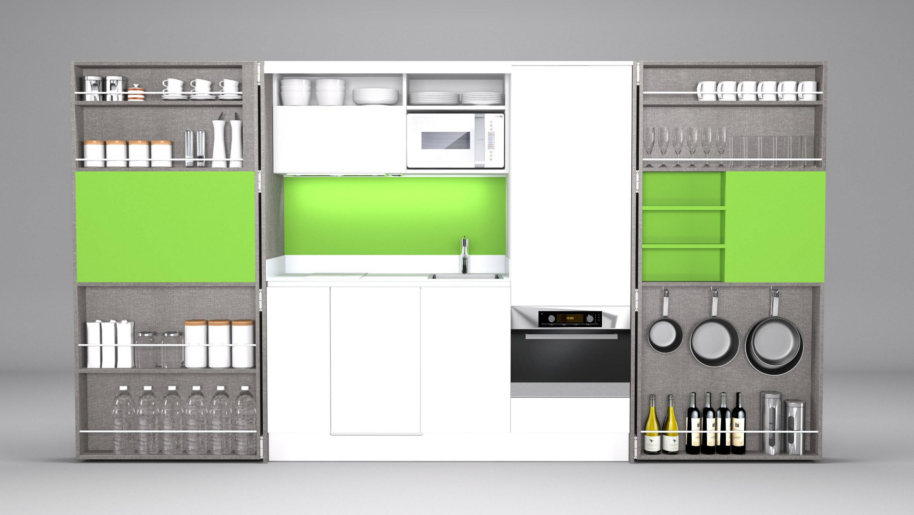 PIA ALTA pact kitchens from Dizz Concept