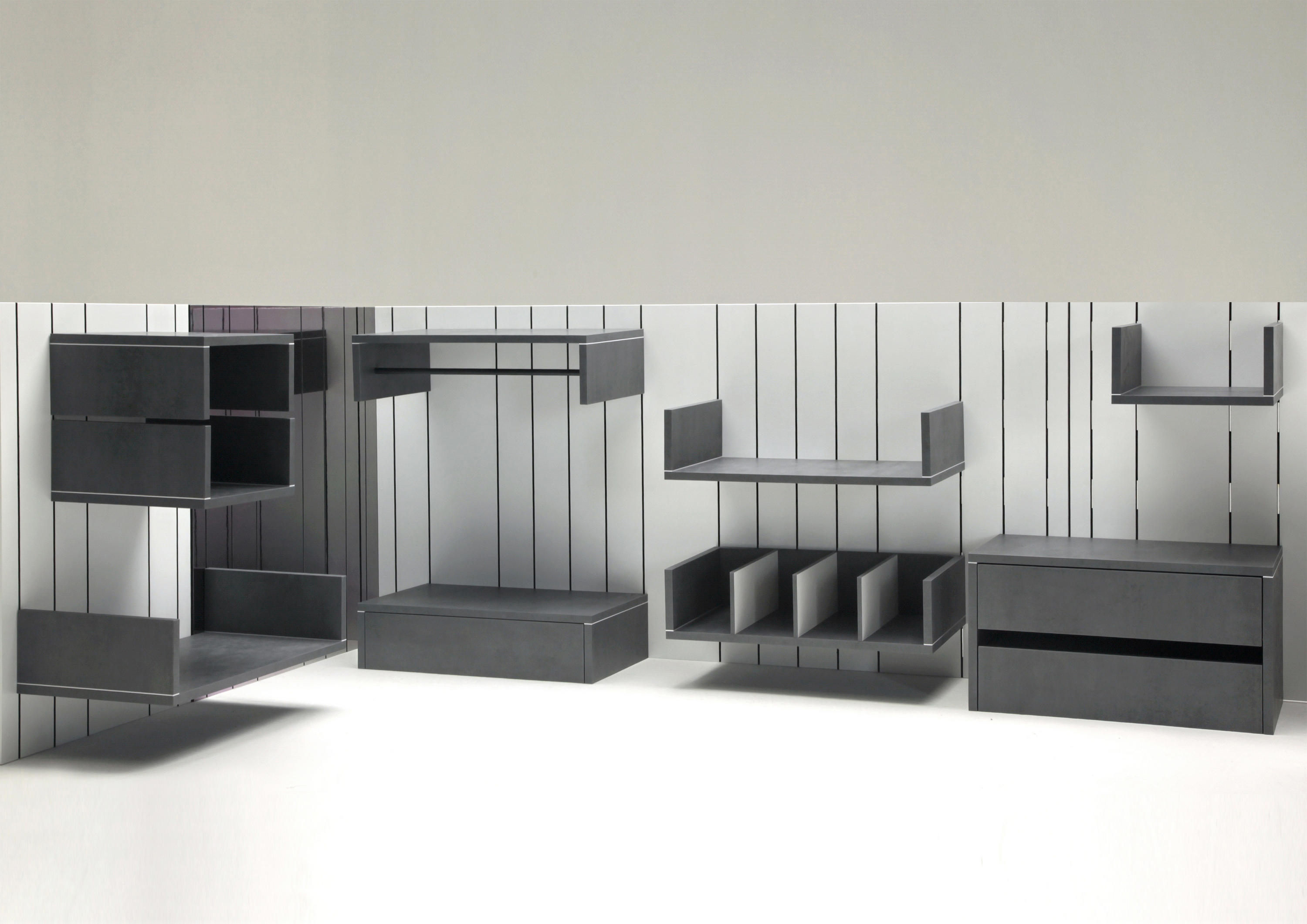 Modular storage furniture systems - Lind Modular Storage System By Dizz Concept Modular Structural Systems
