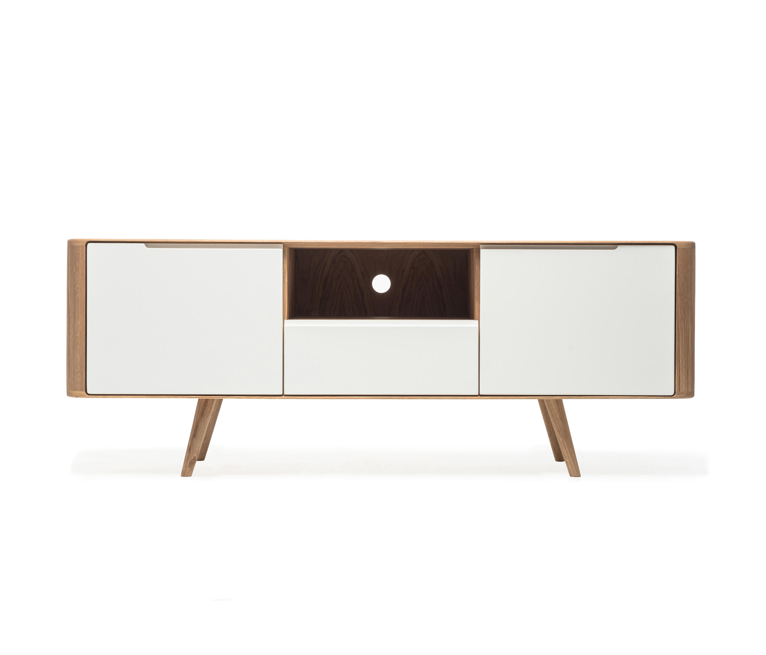 ena tv sideboard two sideboards from gazzda architonic. Black Bedroom Furniture Sets. Home Design Ideas