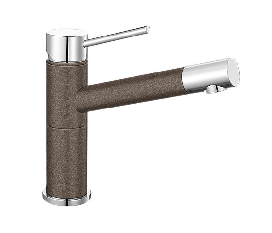 blanco alta compact silgranit coffee chrome kitchen taps from blanco architonic. Black Bedroom Furniture Sets. Home Design Ideas