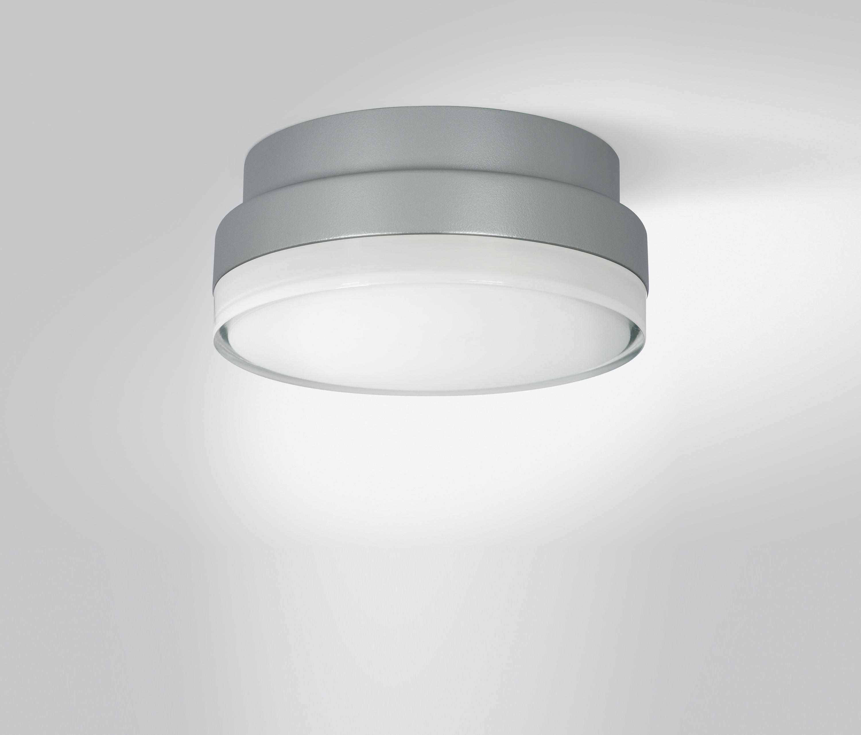 Dot 210 Grey Outdoor Ceiling Lights From Arcluce