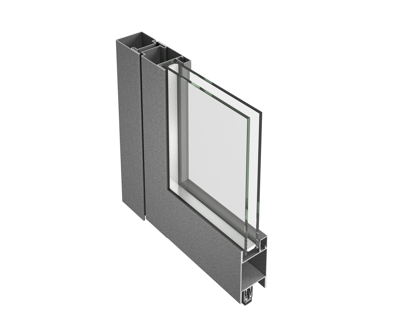 Jansen Economy 5060 Door Steel And Stainless Steel Internal