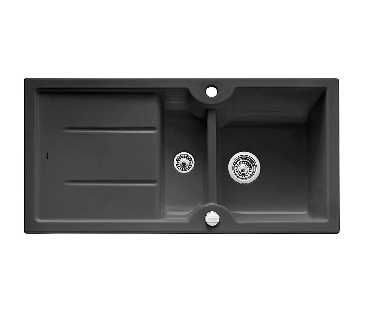 blanco idessa 6 s keramik schwarz k chensp lbecken von blanco architonic. Black Bedroom Furniture Sets. Home Design Ideas