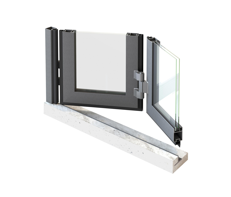 portes accord on et coulissantes baies vitr es de jansen architonic. Black Bedroom Furniture Sets. Home Design Ideas