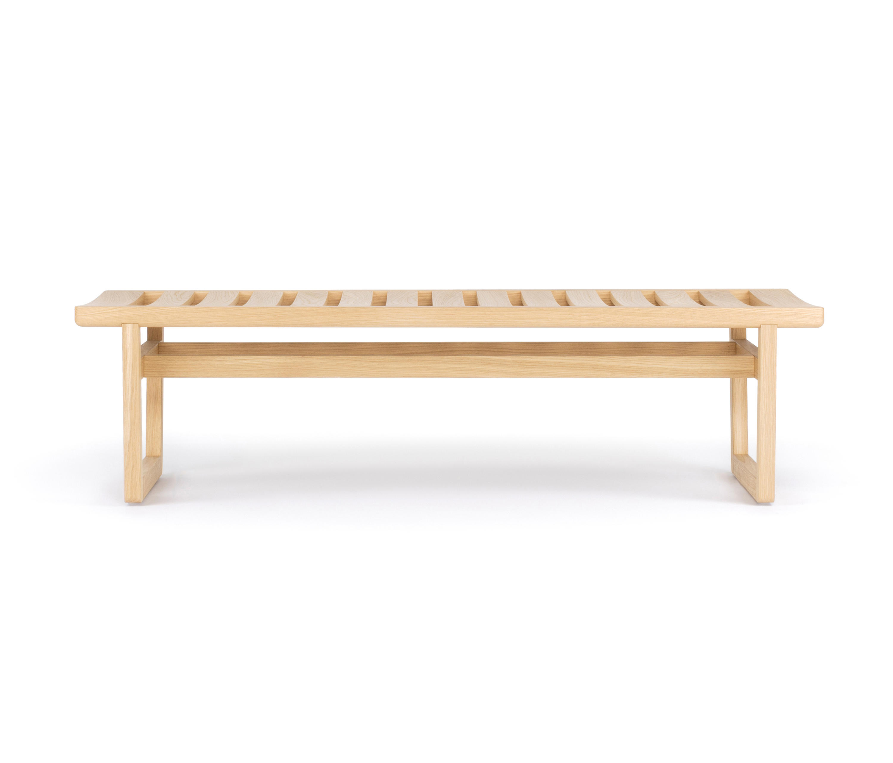 Groovy Oak Bench Small Designer Furniture Architonic Creativecarmelina Interior Chair Design Creativecarmelinacom