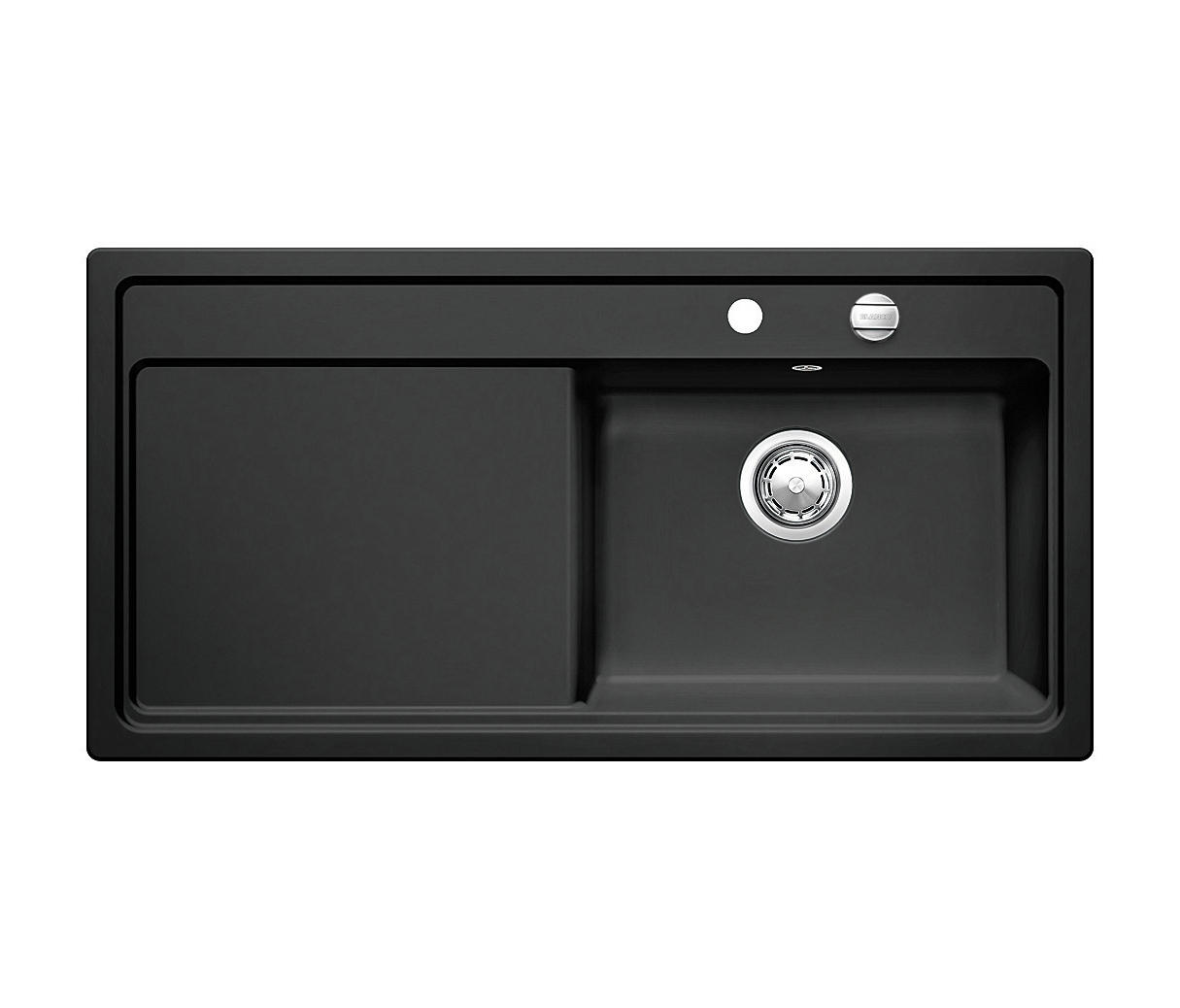 blanco zenar xl 6 s ceramic black kitchen sinks from blanco architonic. Black Bedroom Furniture Sets. Home Design Ideas