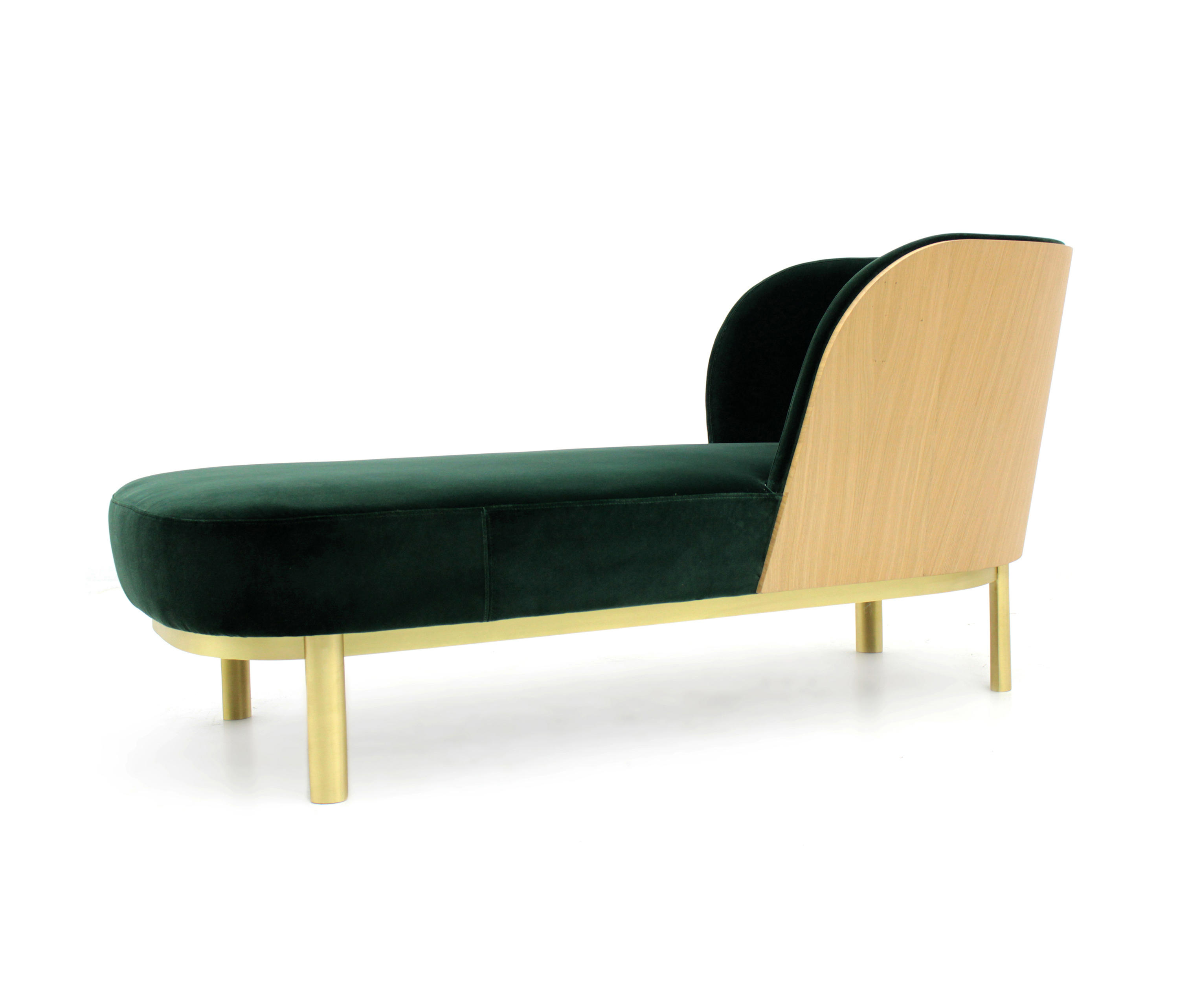 Serene chaise longue chaise longues from paulo antunes for Chaise longue de couleur