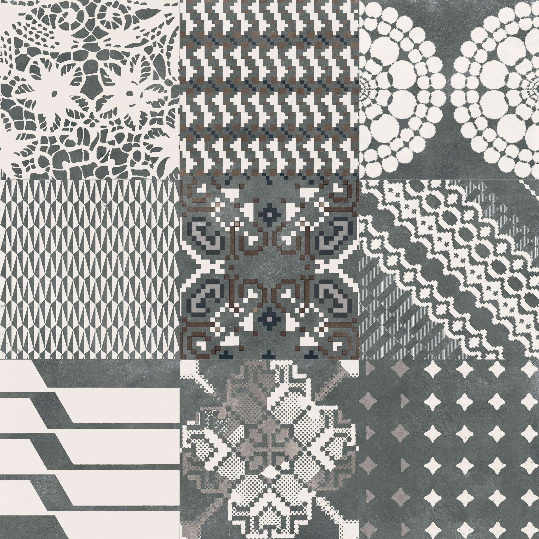 Azulej combination nero piastrelle ceramiche mutina - Piastrelle mutina ...