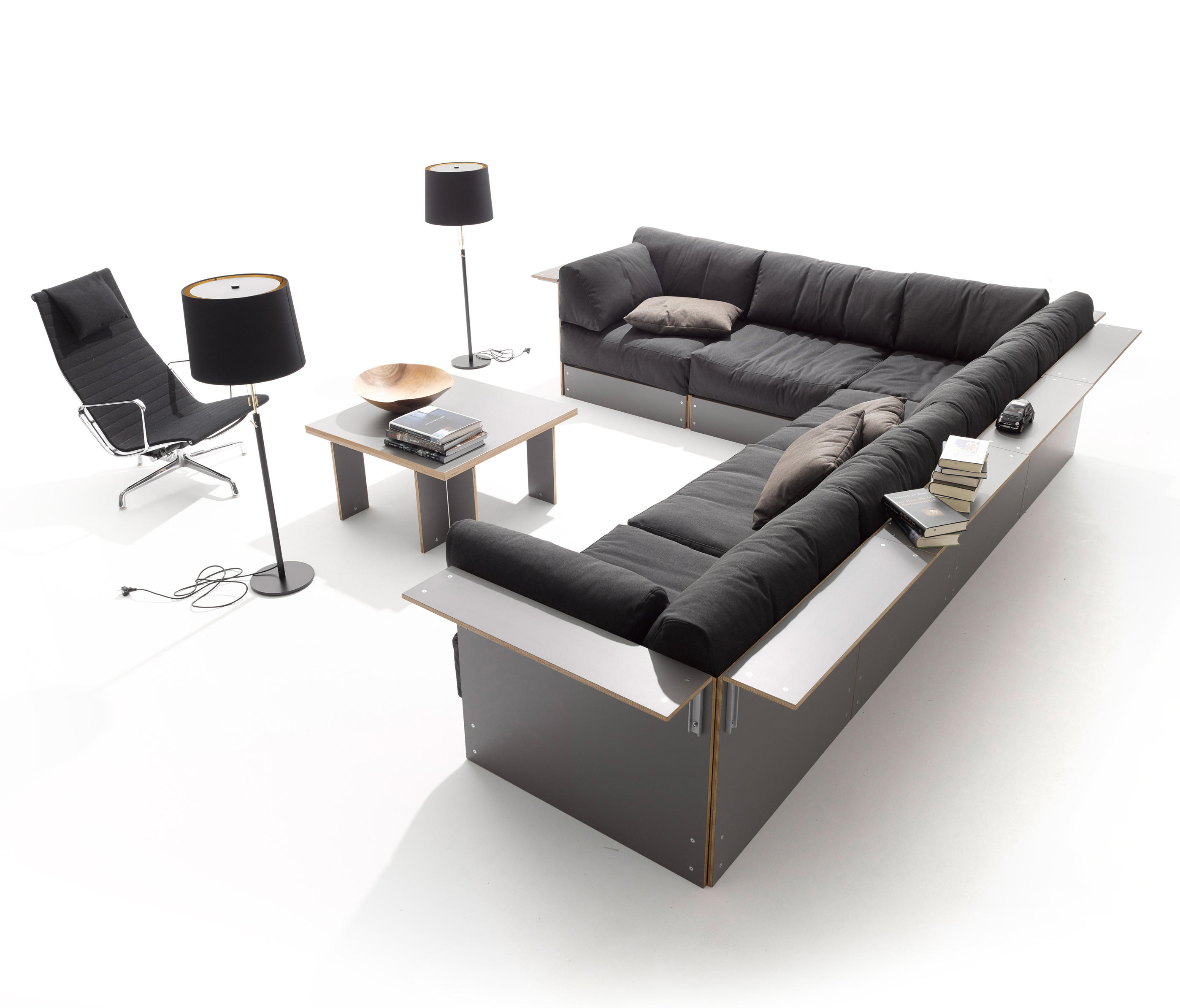 sofabank sofas from m ller m belwerkst tten architonic. Black Bedroom Furniture Sets. Home Design Ideas