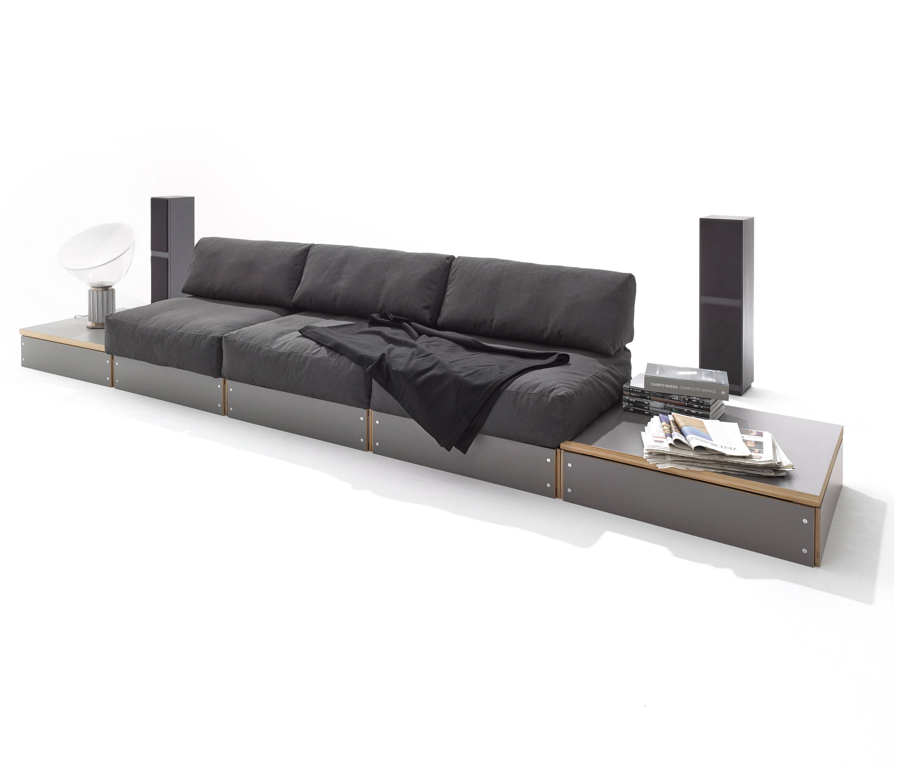 sofabank canap s de m ller m belwerkst tten architonic. Black Bedroom Furniture Sets. Home Design Ideas