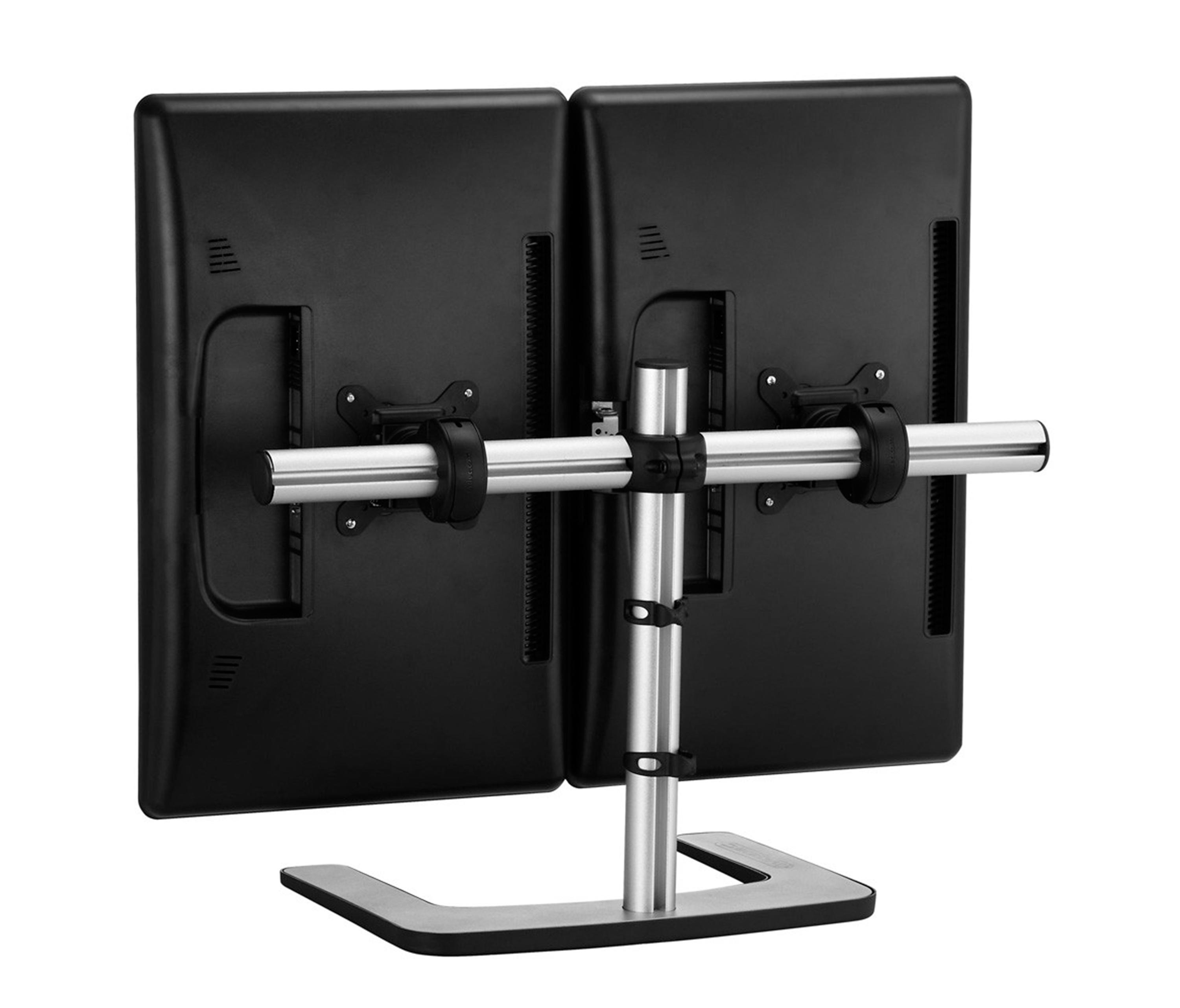 47 Dual Monitor Desk Stand Horizontal Dual Monitor Desk