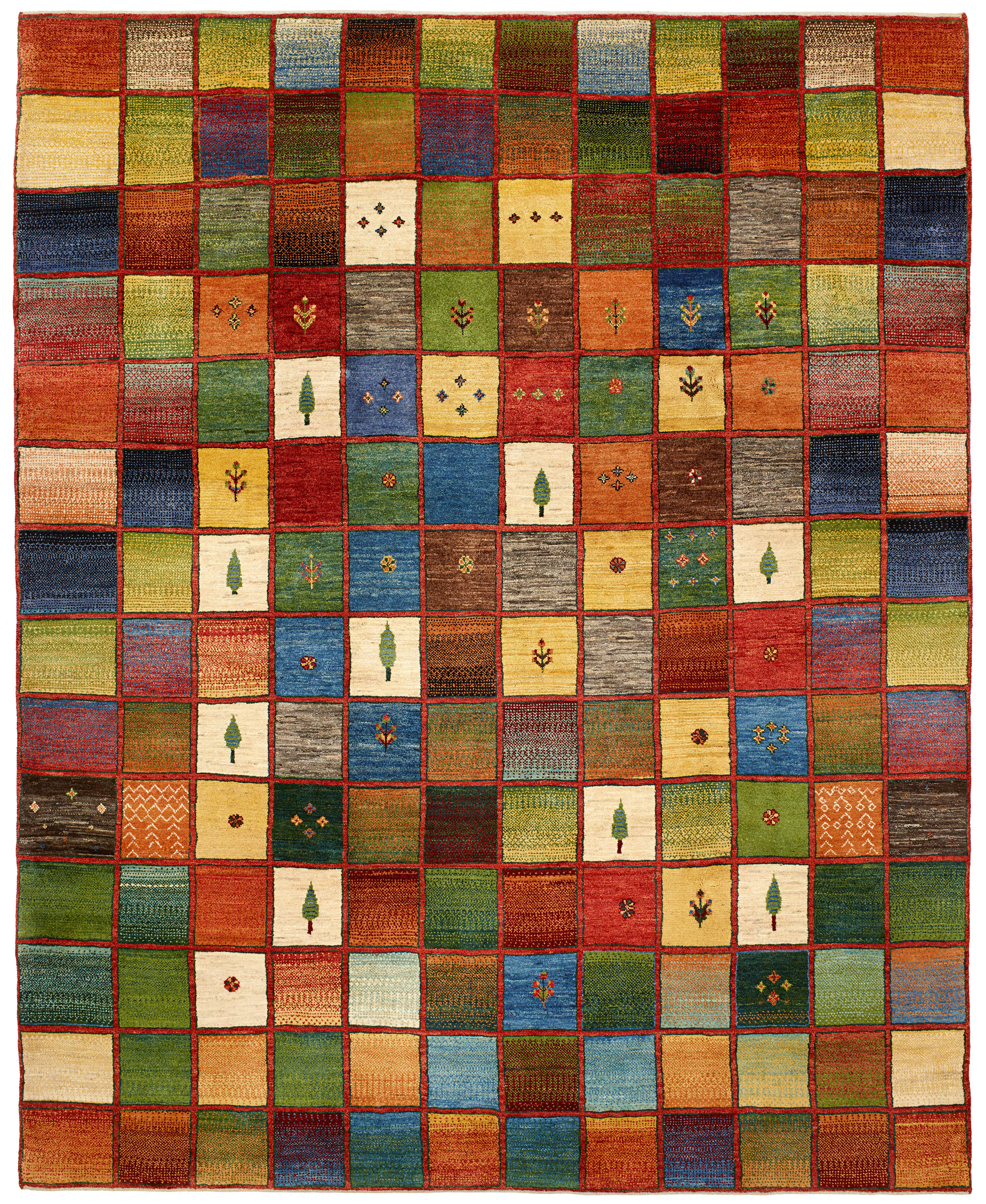 Gabbehs Geometric Squares Revisited 1 Rugs From