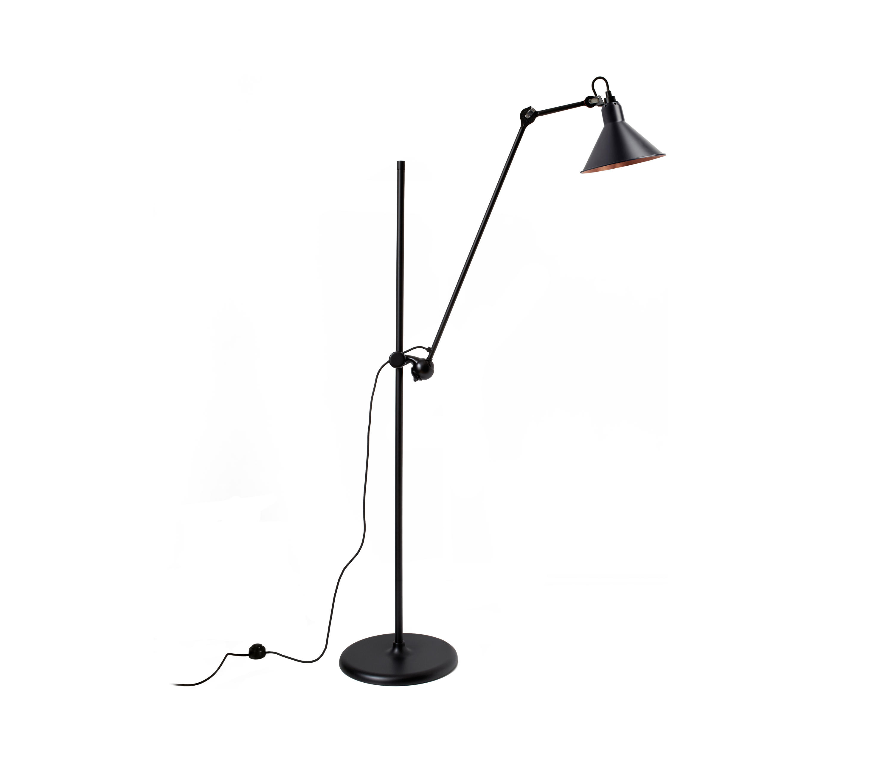 lampe gras n 215 l black copper general lighting from dcw ditions architonic. Black Bedroom Furniture Sets. Home Design Ideas