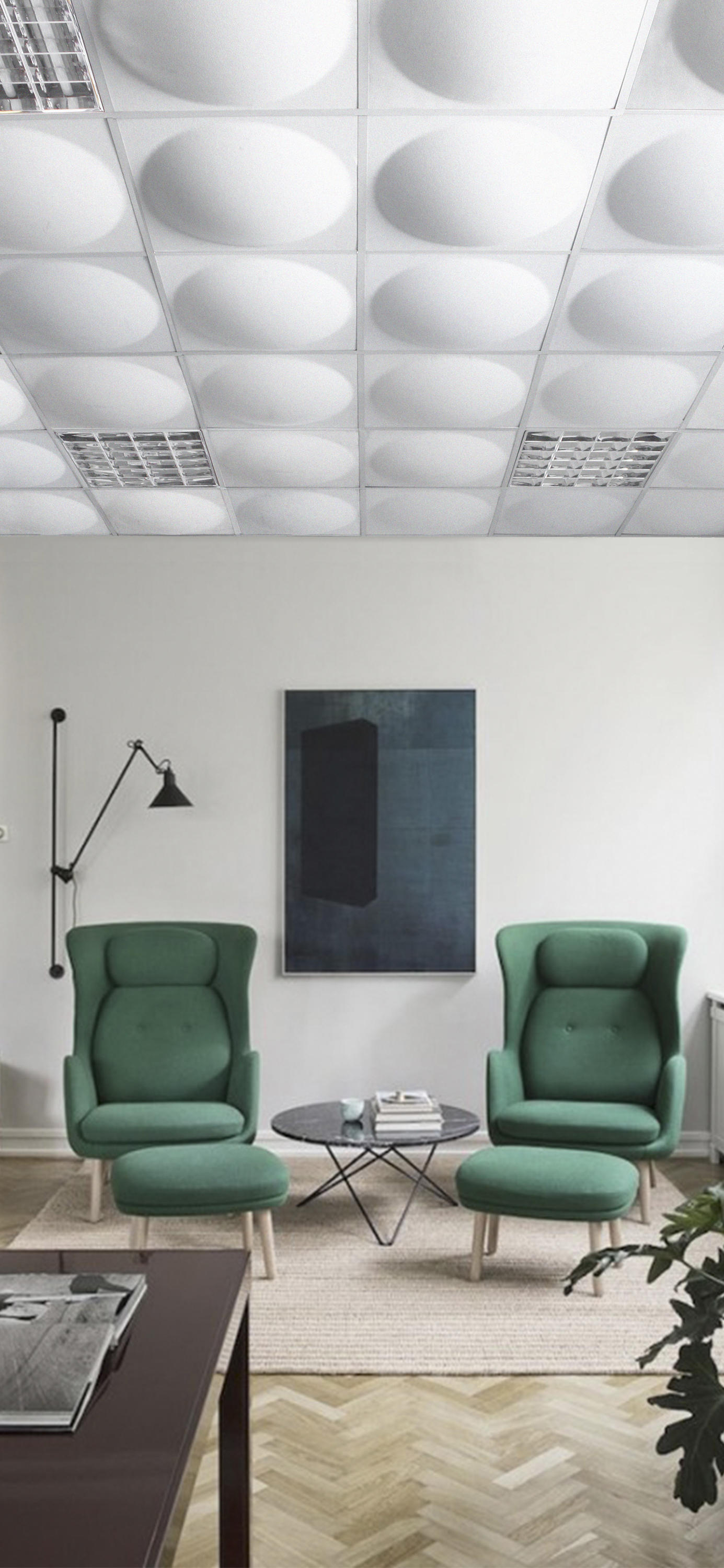 Ecoround Ceiling Acoustic Ceiling Systems From Slalom