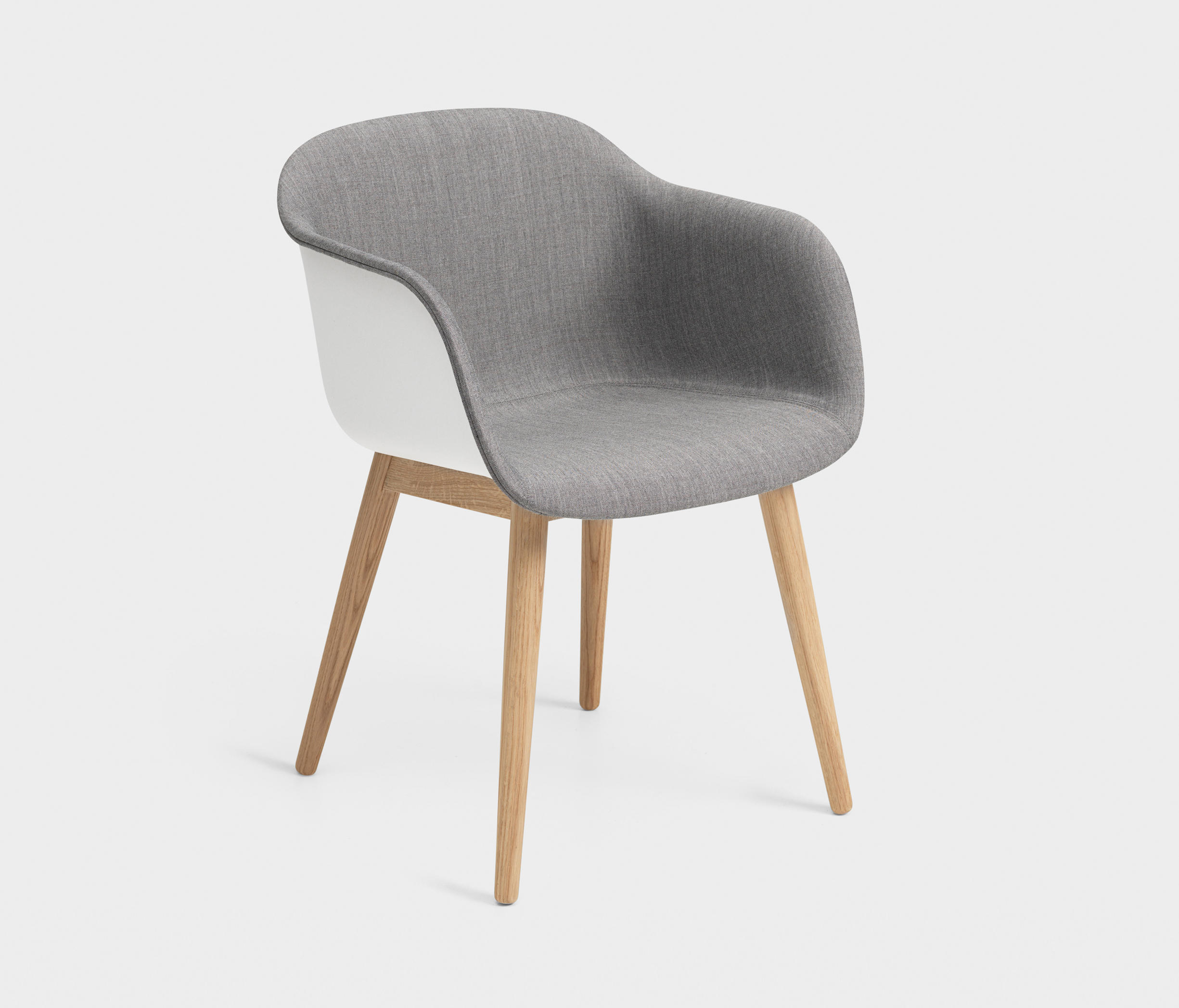 Wood Base Chairs ~ Fiber armchair wood base inside upholstered visitors