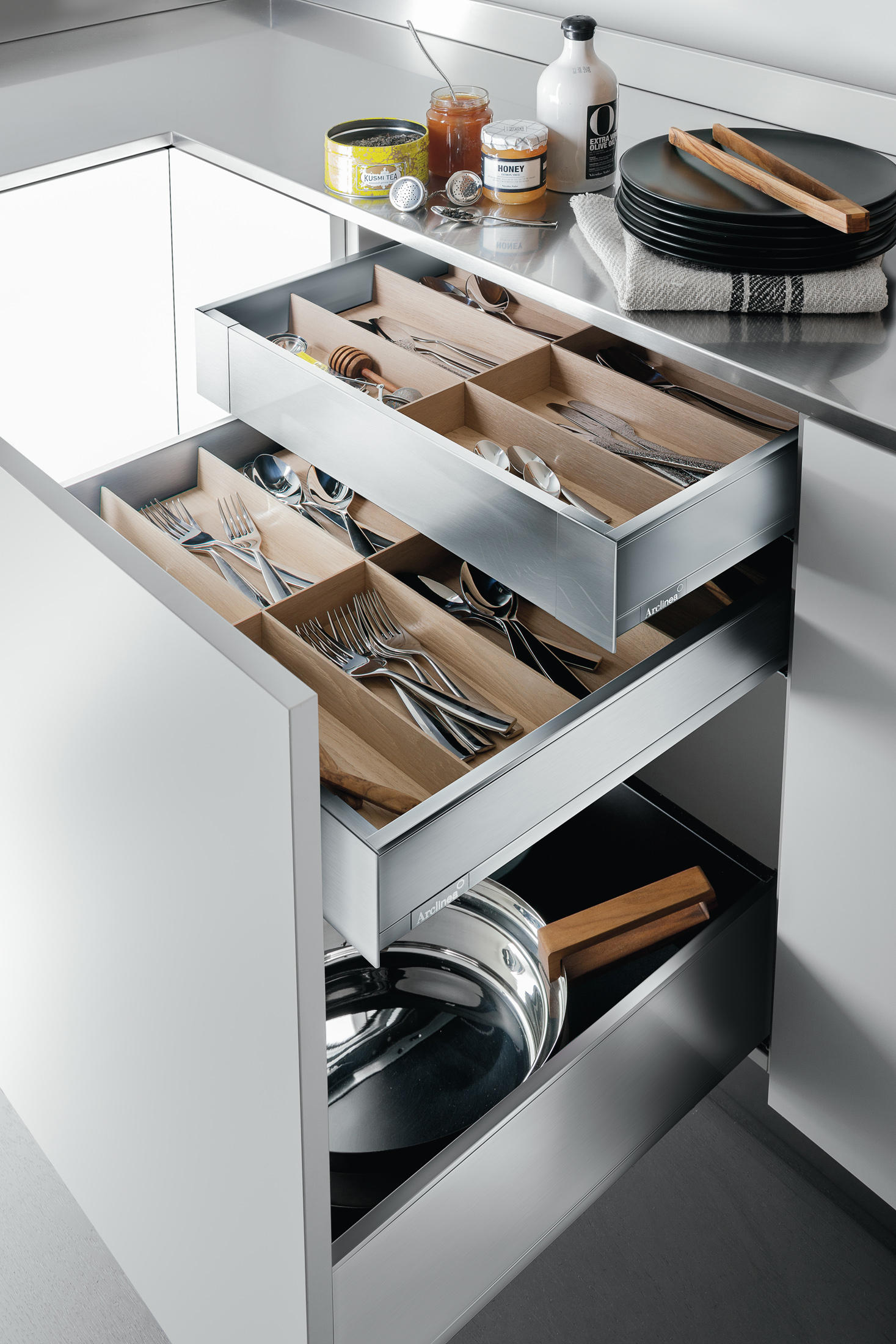 CASSETTI - Organizzazione cucina Arclinea | Architonic