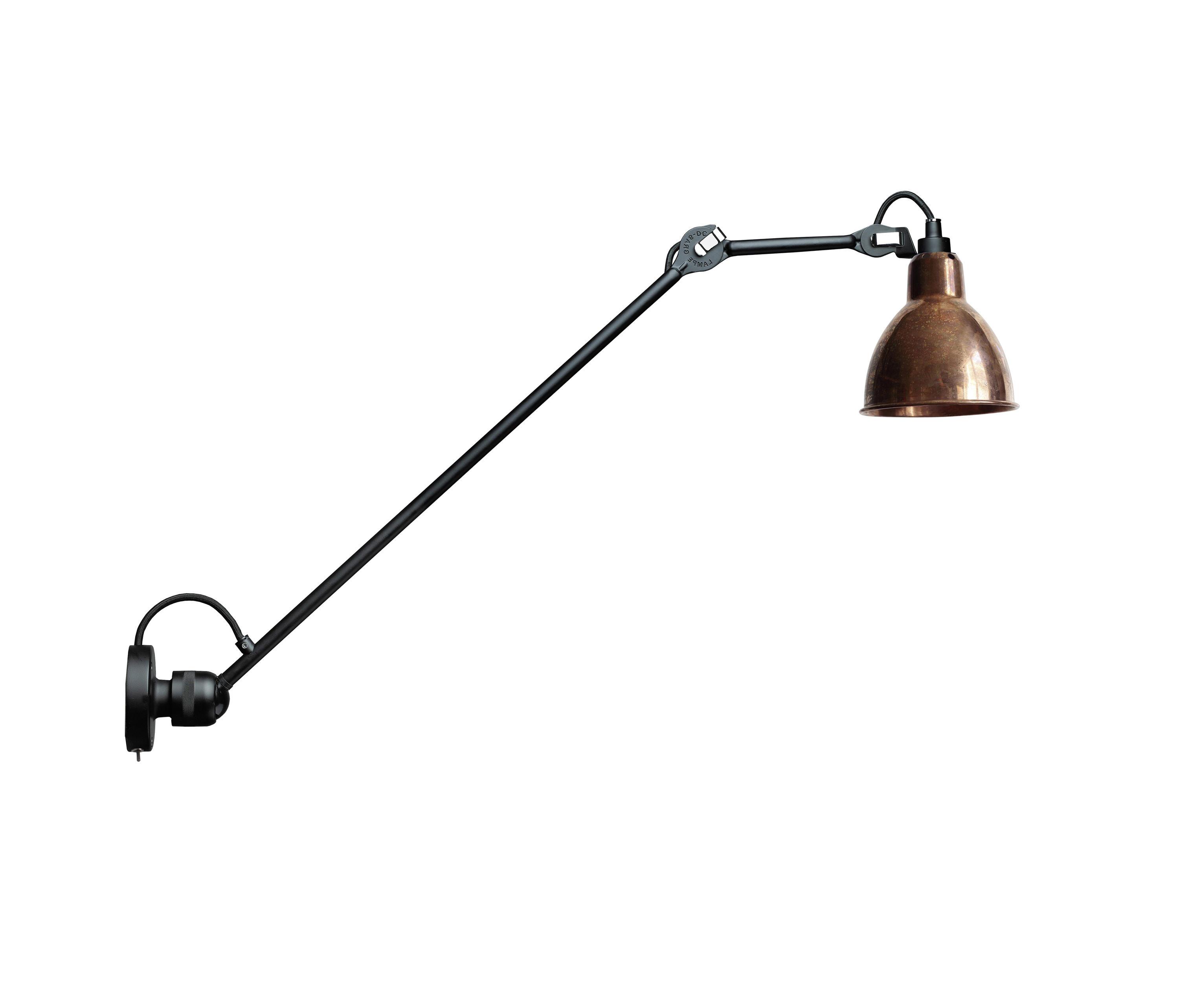 lampe gras n 304 l60 sw copper general lighting from. Black Bedroom Furniture Sets. Home Design Ideas