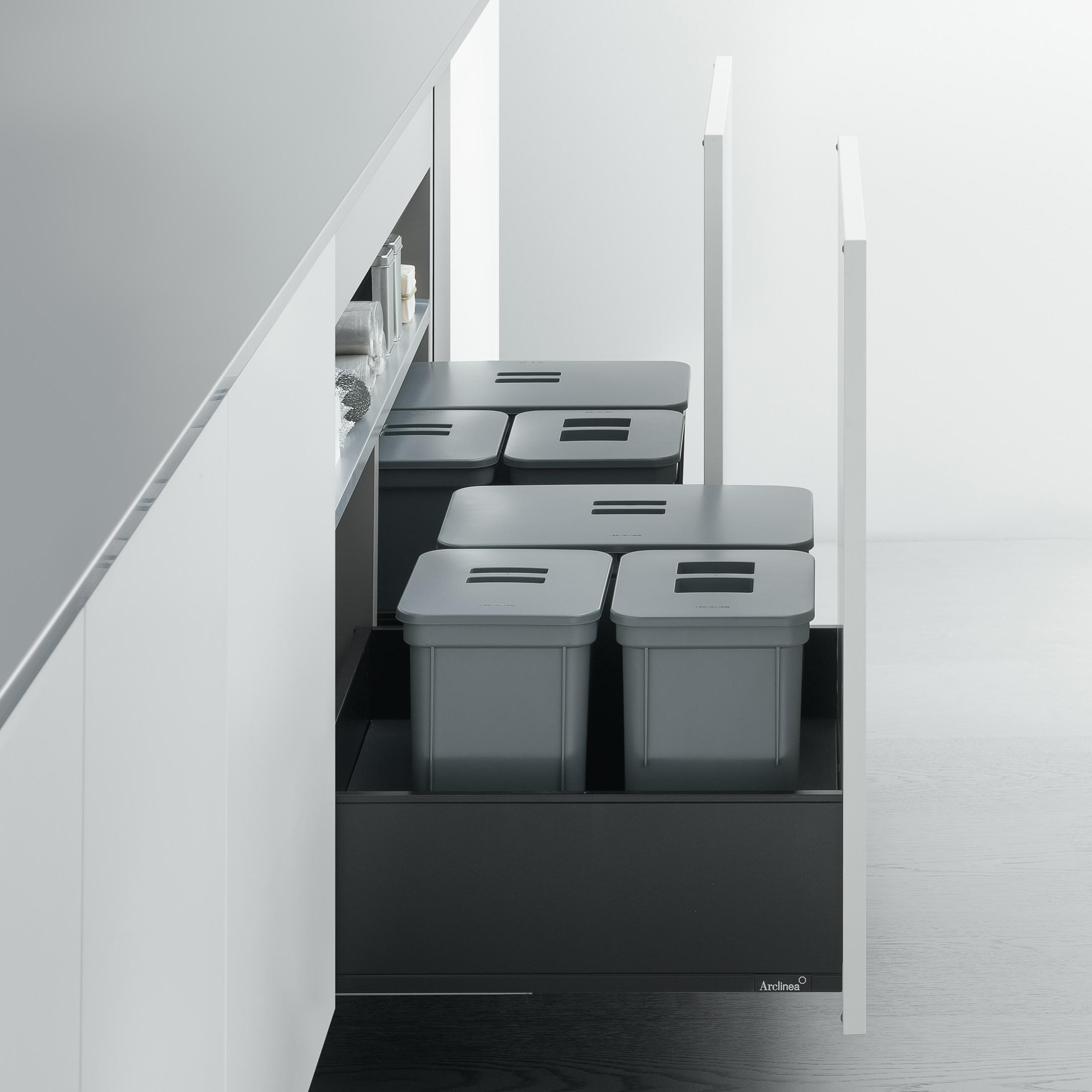 Undersink Unit | Base Unit With U201cbig Binu201d Separate Waste Disposal System By  Arclinea