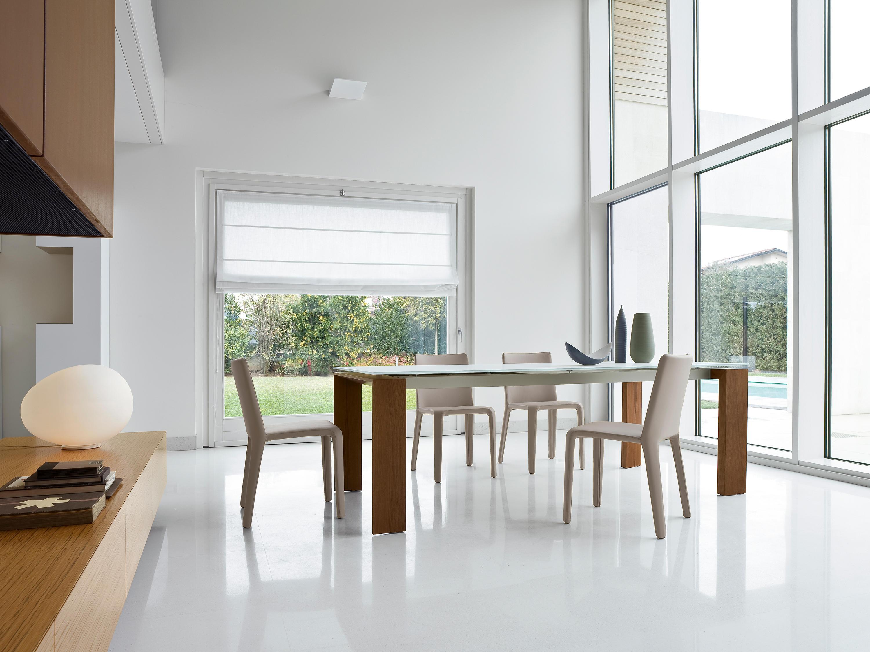 Twice tavoli da pranzo bonaldo architonic for Produttori tavoli