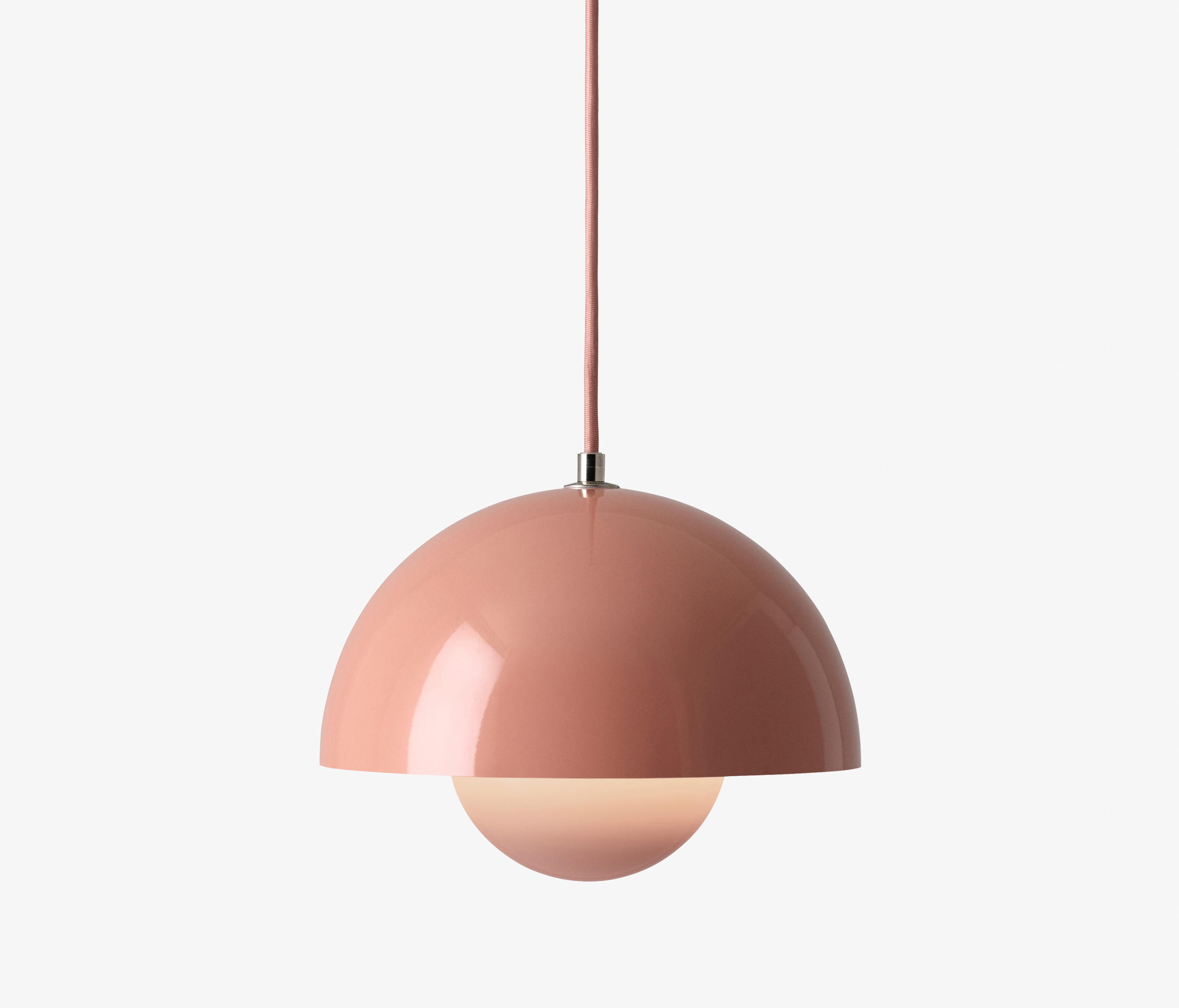 FlowerPot Pendant VP1 Beige Red By U0026TRADITION | General Lighting