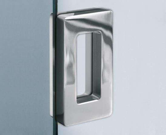 V 534 inc flush pull handles for glass doors from - Poignee cuvette pour porte coulissante ...