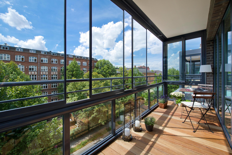 balkonverglasung sl 25 balkonverglasung von solarlux architonic. Black Bedroom Furniture Sets. Home Design Ideas