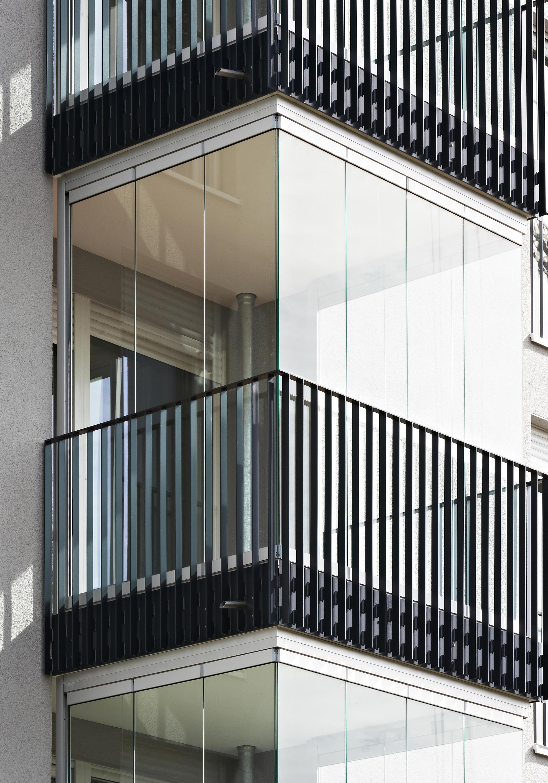 balcony glasing sl 25 xxl vitrages de balcons de solarlux architonic. Black Bedroom Furniture Sets. Home Design Ideas