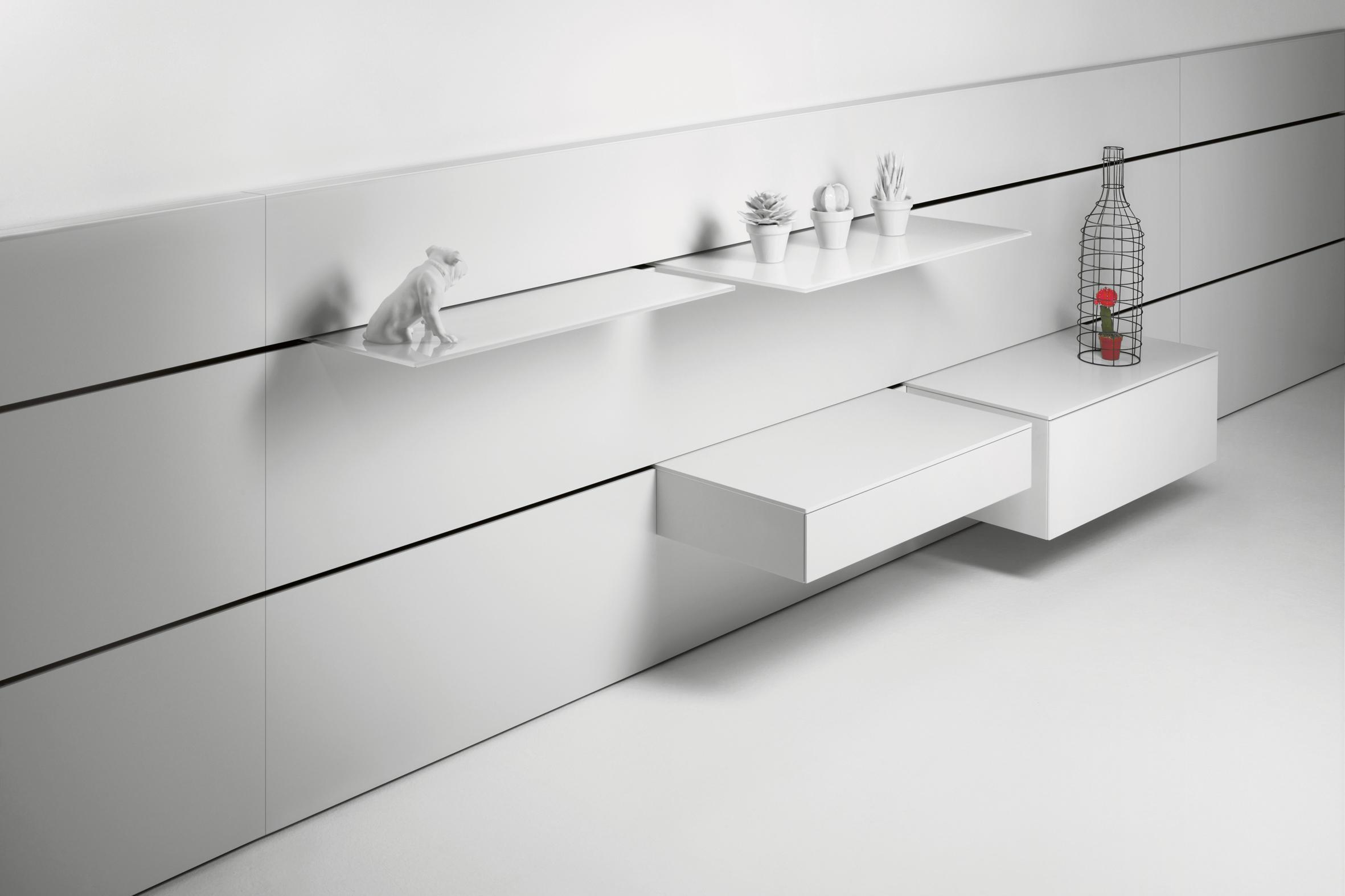 nocto plus mesillas de noche de interl bke architonic. Black Bedroom Furniture Sets. Home Design Ideas