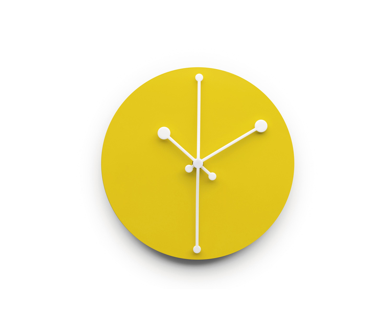 clocks  high quality designer clocks  architonic - dotty clock abi y  clocks  alessi