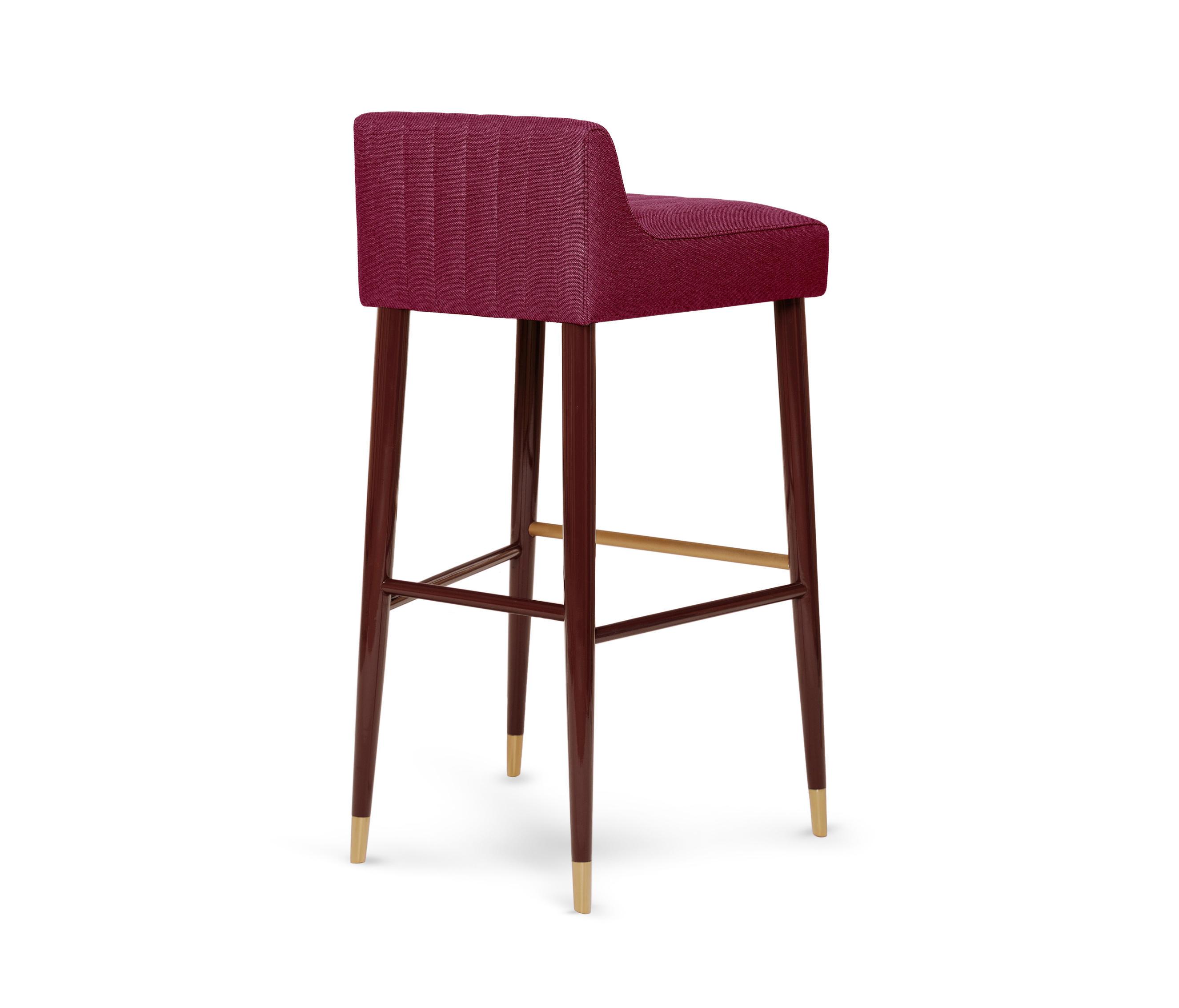 Astounding Charlotte Bar Stool Bar Stools From Munna Architonic Bralicious Painted Fabric Chair Ideas Braliciousco