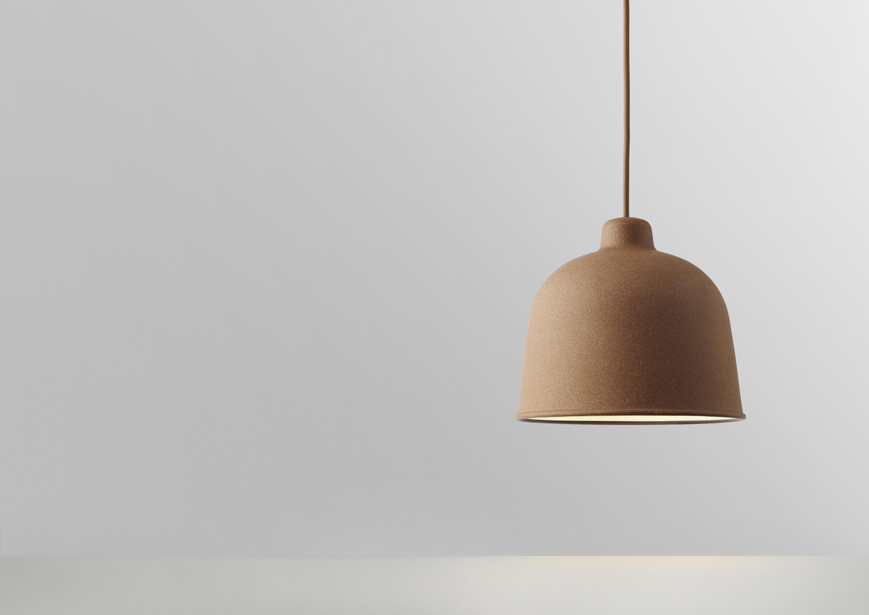 grain pendant lamp suspended lights from muuto architonic