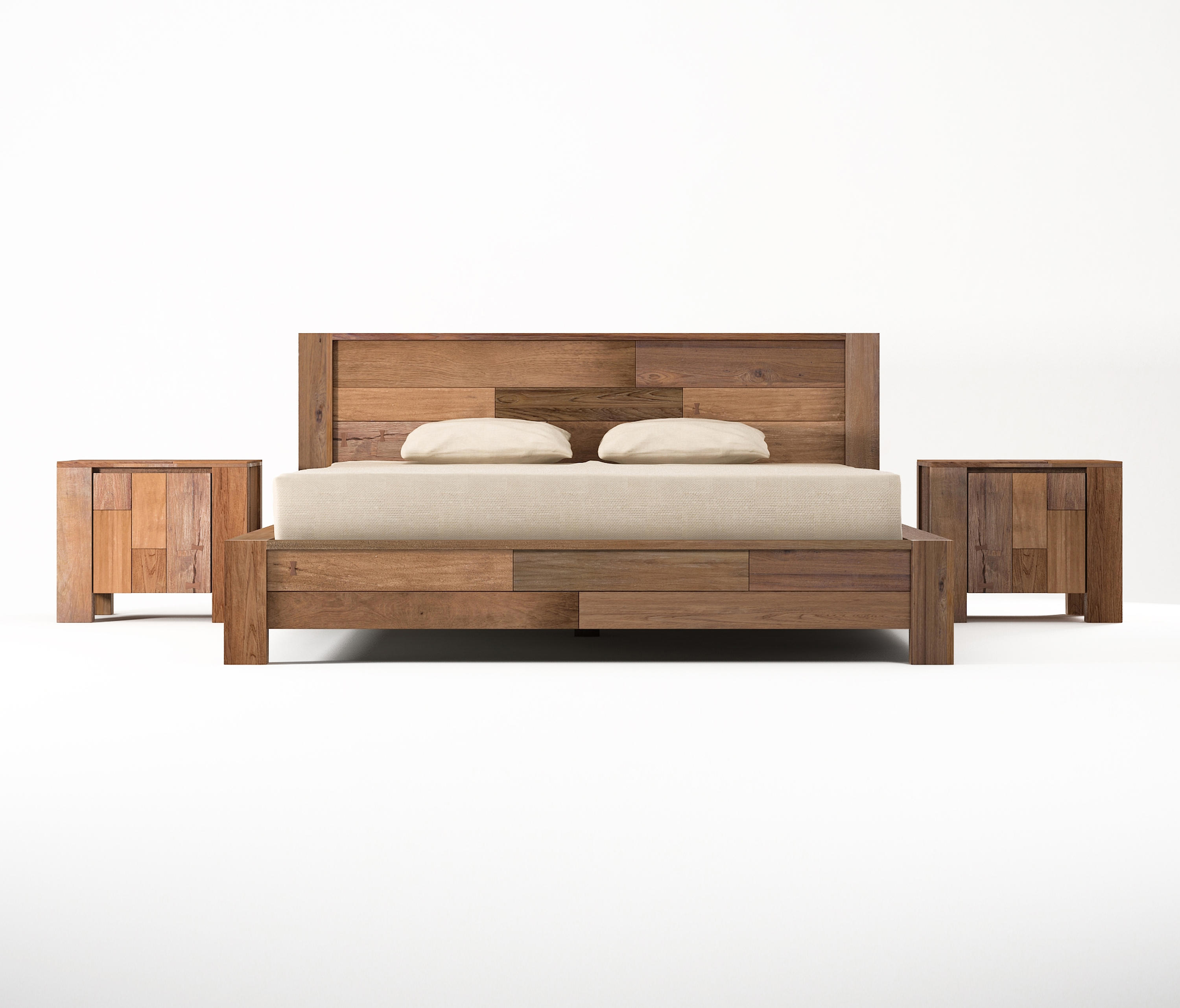 Organik european king size bed beds from karpenter for Mobilia king size bed