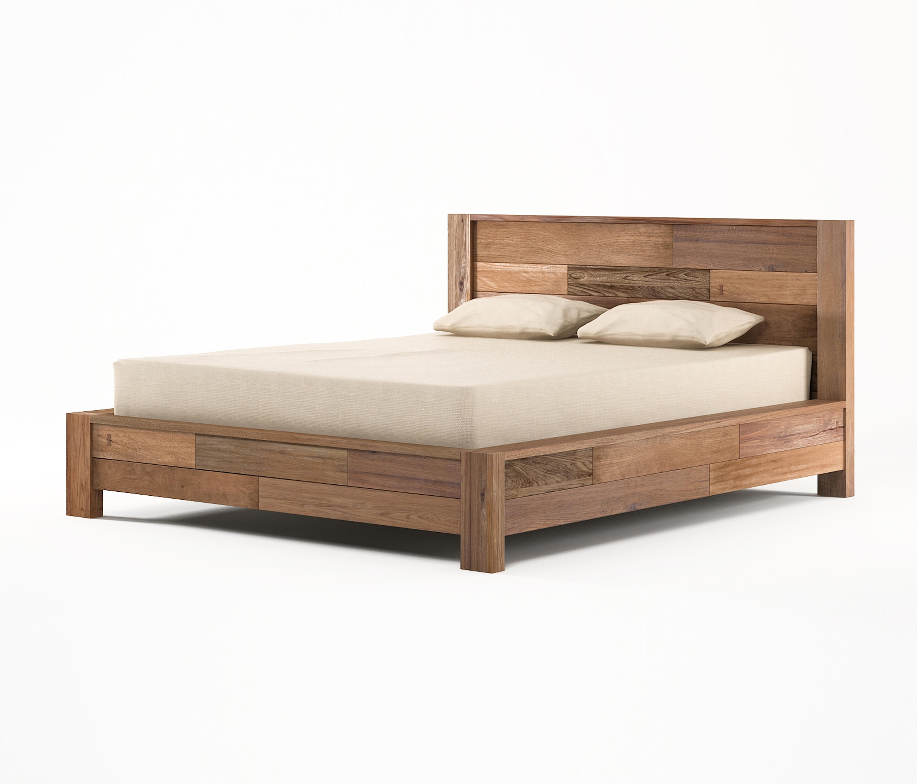 Queen Size Bed: ORGANIK EUROPEAN QUEEN SIZE BED