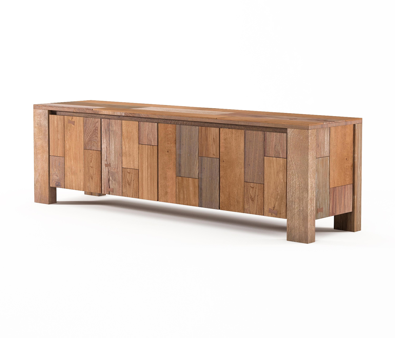organik media cabinet with 4 doors multimedia sideboards. Black Bedroom Furniture Sets. Home Design Ideas
