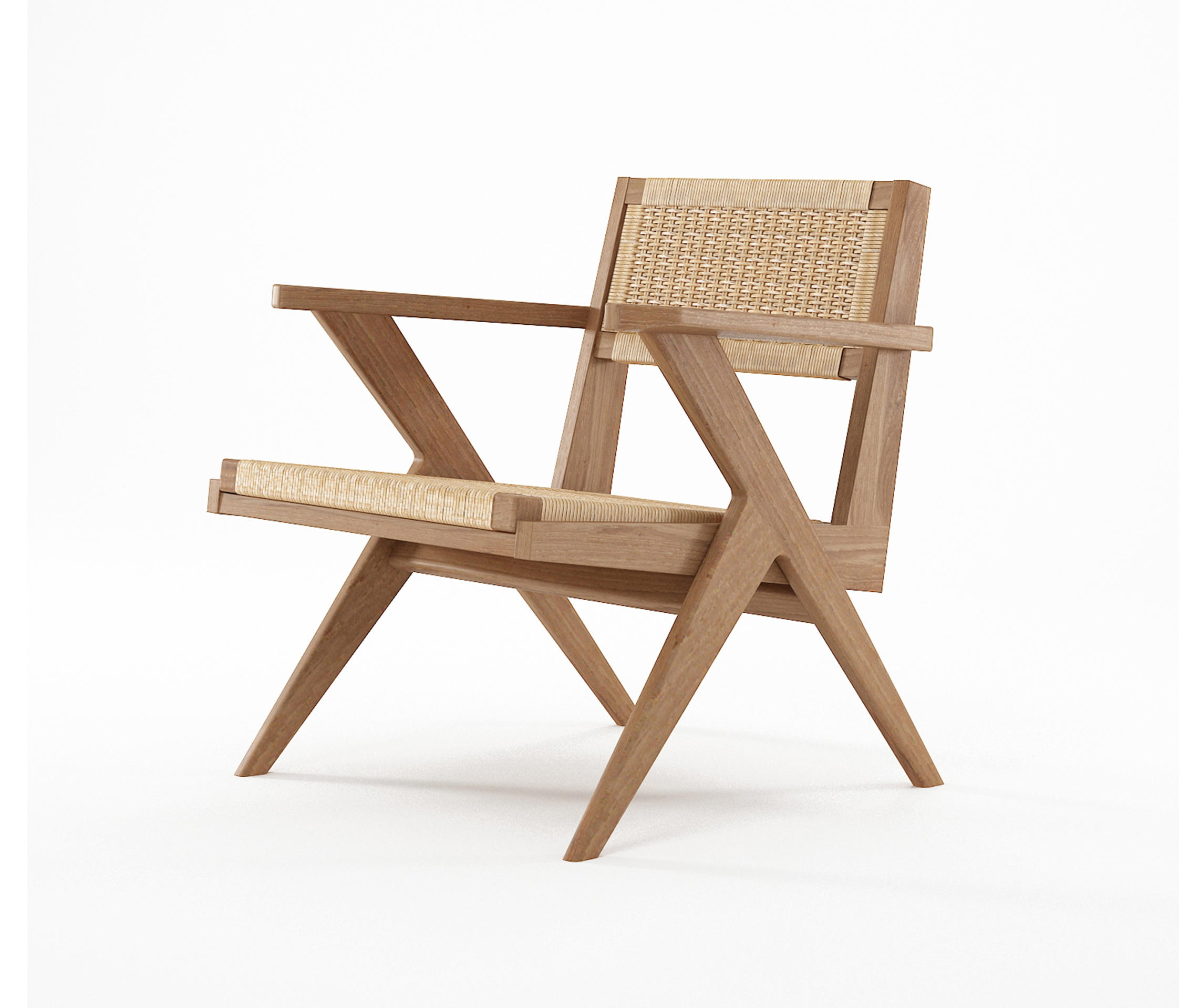 Tribute Easy Chair With Woven Danish Paper Cord Armchairs From