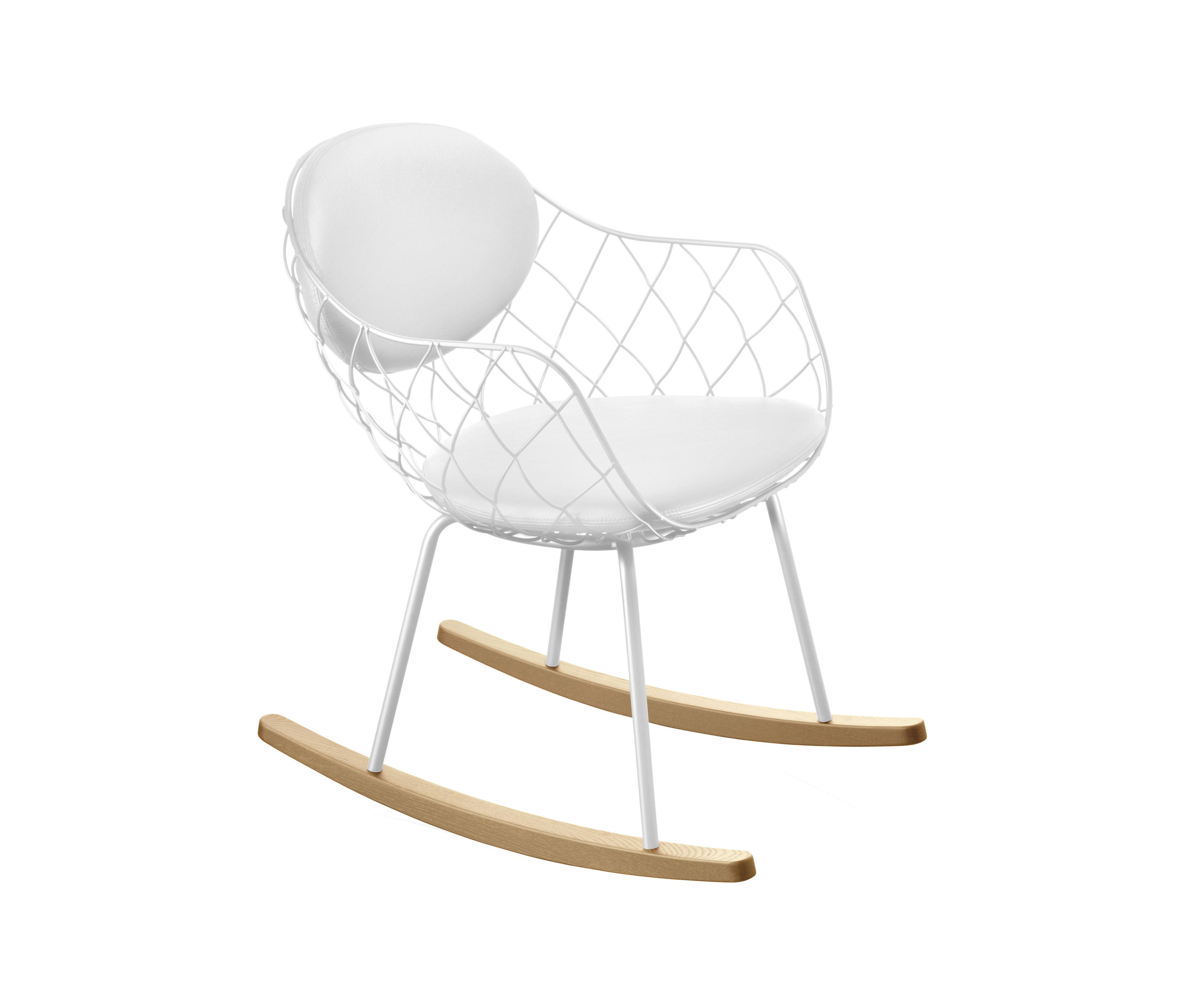 Pi a rocking chair lounge chairs from magis architonic for Magis chair