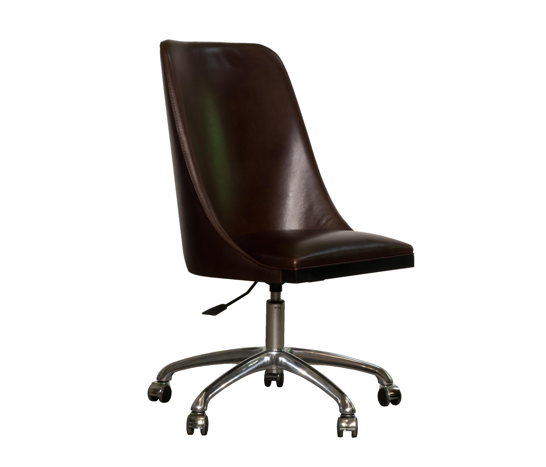 Decor sedia con rotelle sedie girevoli da lavoro baxter for Baxter sedie