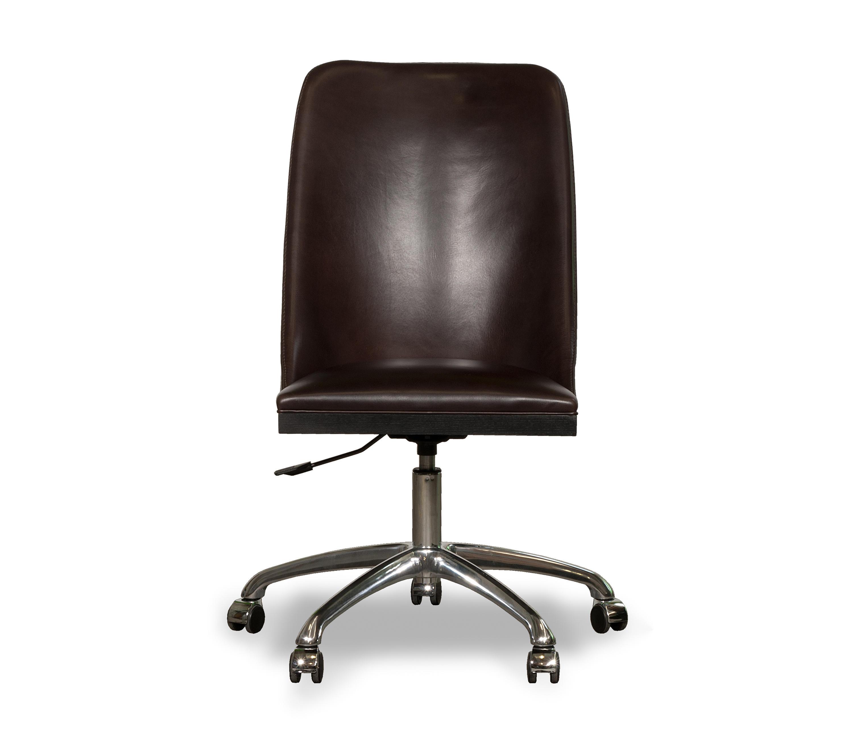 decor sedia con rotelle sedie girevoli da lavoro baxter